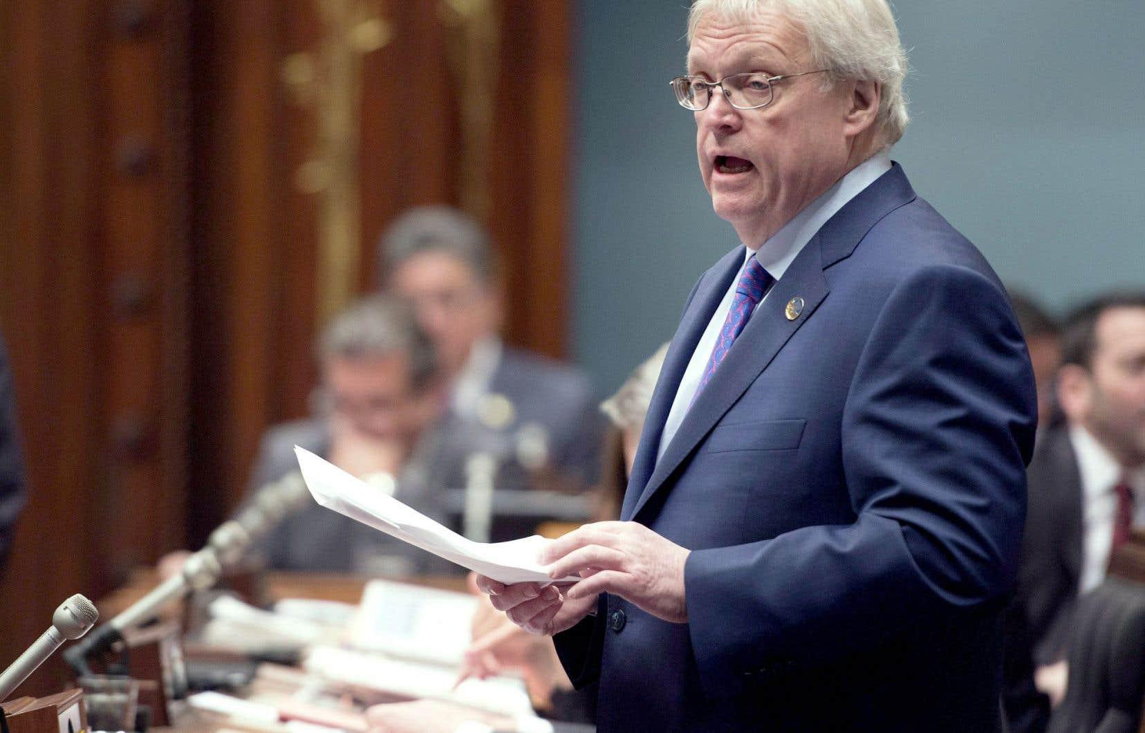 Le ministre de la Santé, Gaétan Barrette, estime que le projet de loi 92 répond aux craintes de la vérificatrice générale.