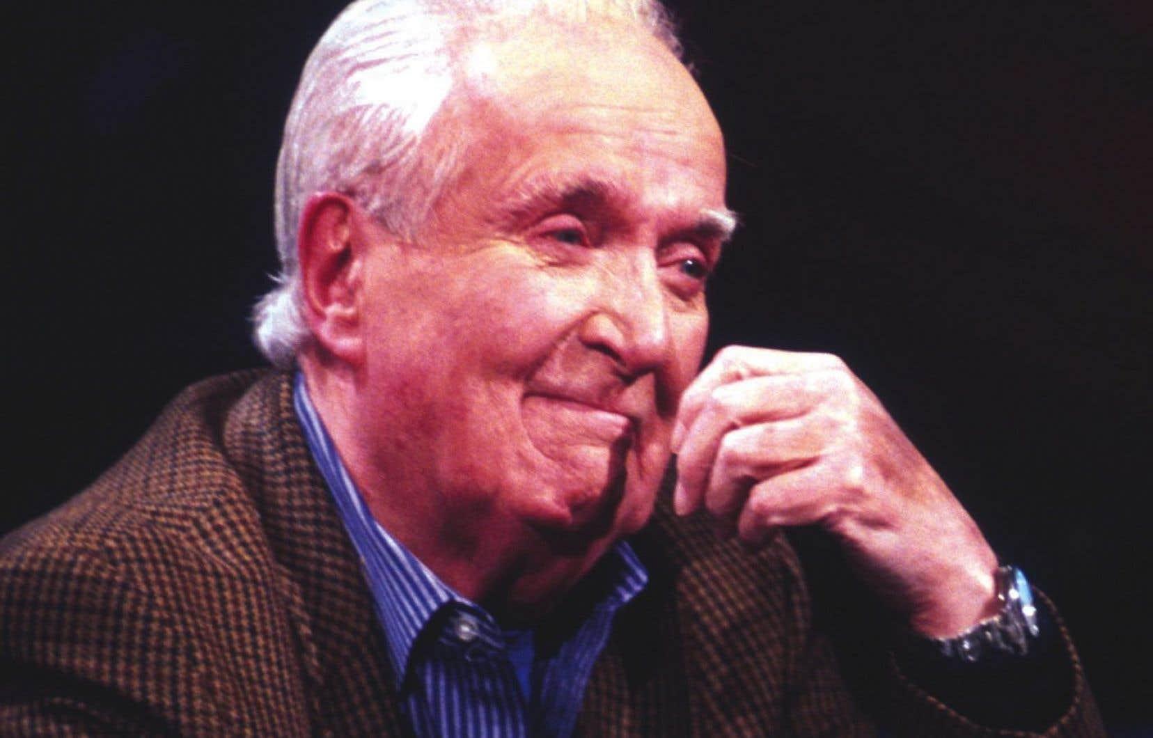 Marcel Dubé en 2003