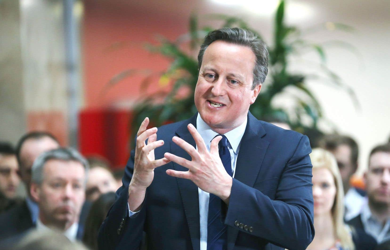 Le premier ministre britannique, David Cameron, est sur la sellette.