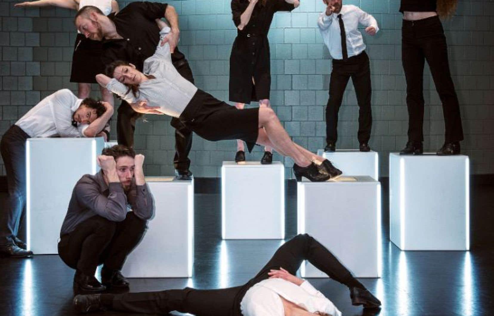 «monumental» est une œuvre prémonitoire et engagée qui promet une véritable onde de choc à Montréal et Québec.