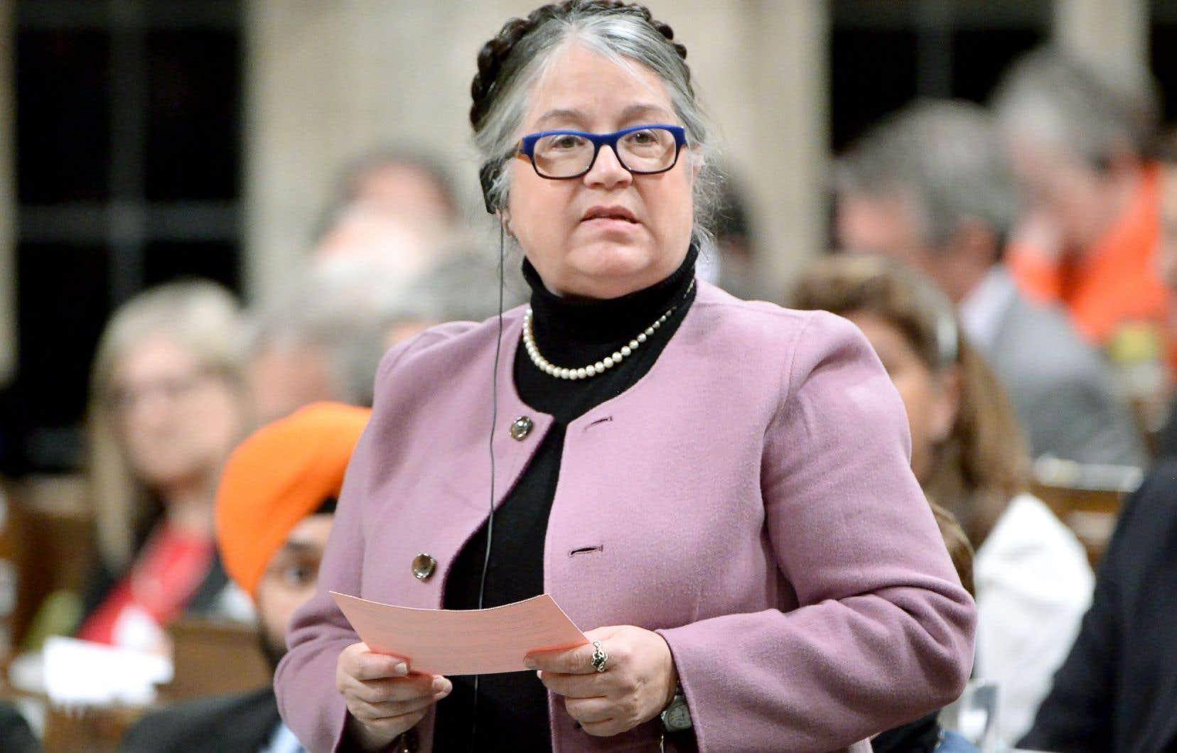 Diane Lebouthillier, ministre du Revenu national: «Il y a des gens aujourd'hui, j'imagine, qui doivent être nerveux.»
