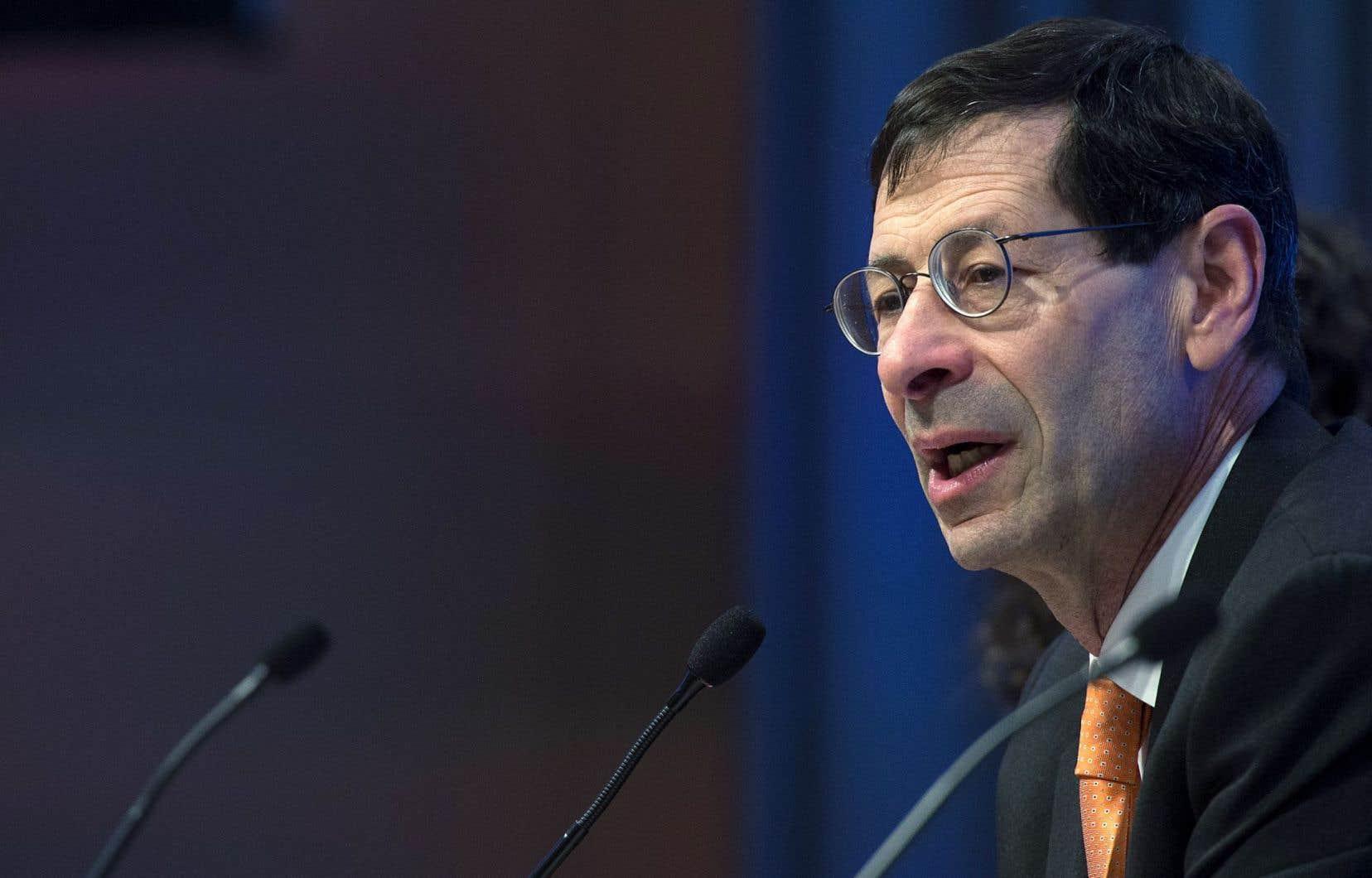 Maurice Obstfeld, chef économiste au Fonds monétaire international: «Il n'y a plus vraiment de place pour l'erreur.»