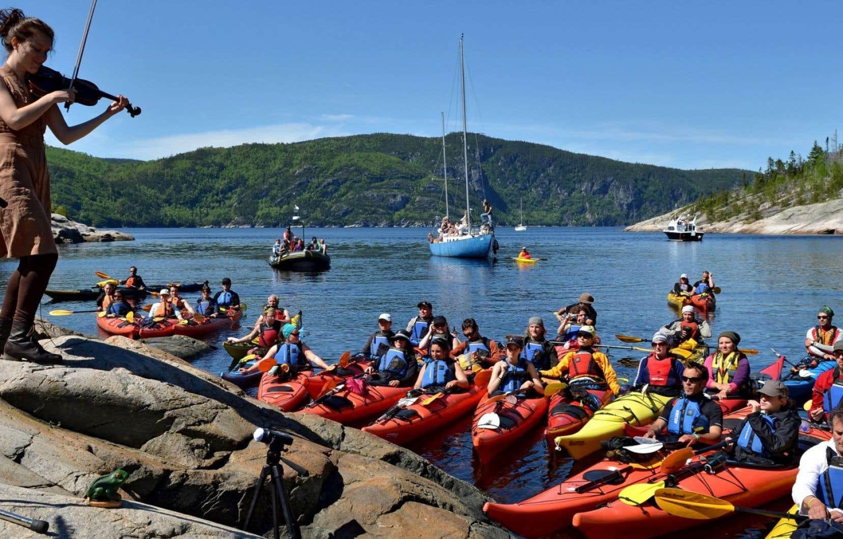 Le 33eFestival de la chanson de Tadoussac se tiendra au début du mois de juin à l'embouchure du fjord du Saguenay.