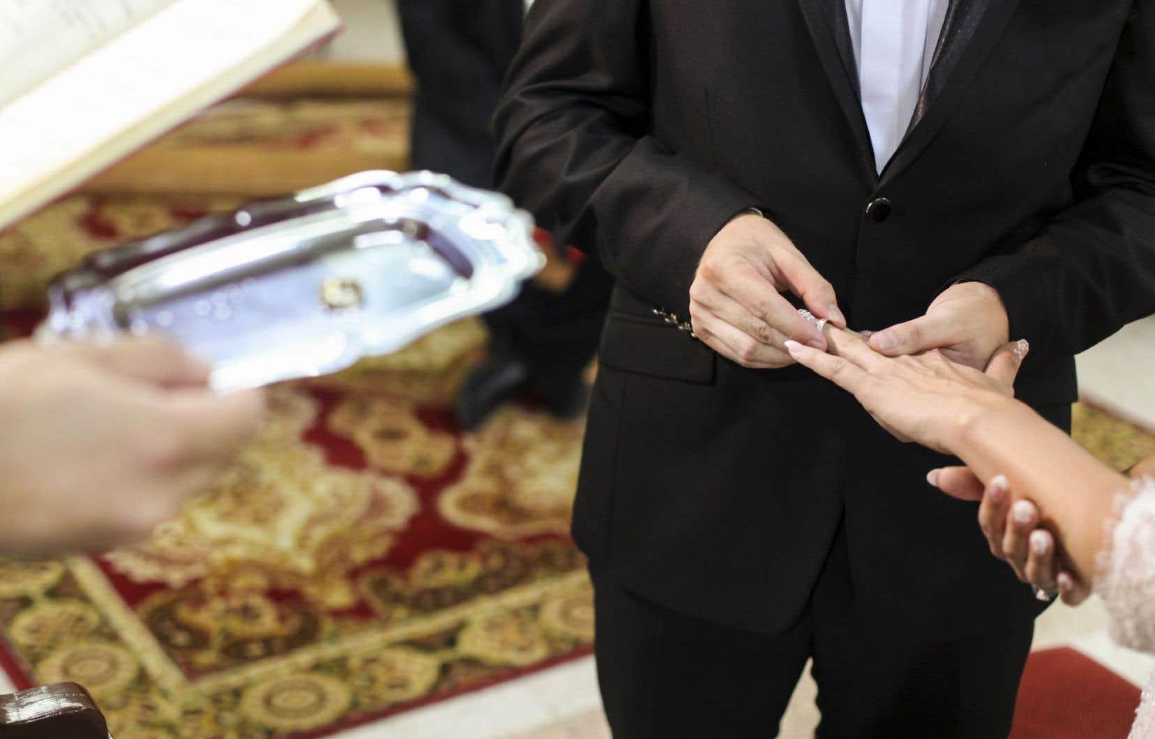 Selon la juge Alary, le nouveau Code civil entré en vigueur en 1994 permet de dissocier les dimensions religieuse et civile du mariage.