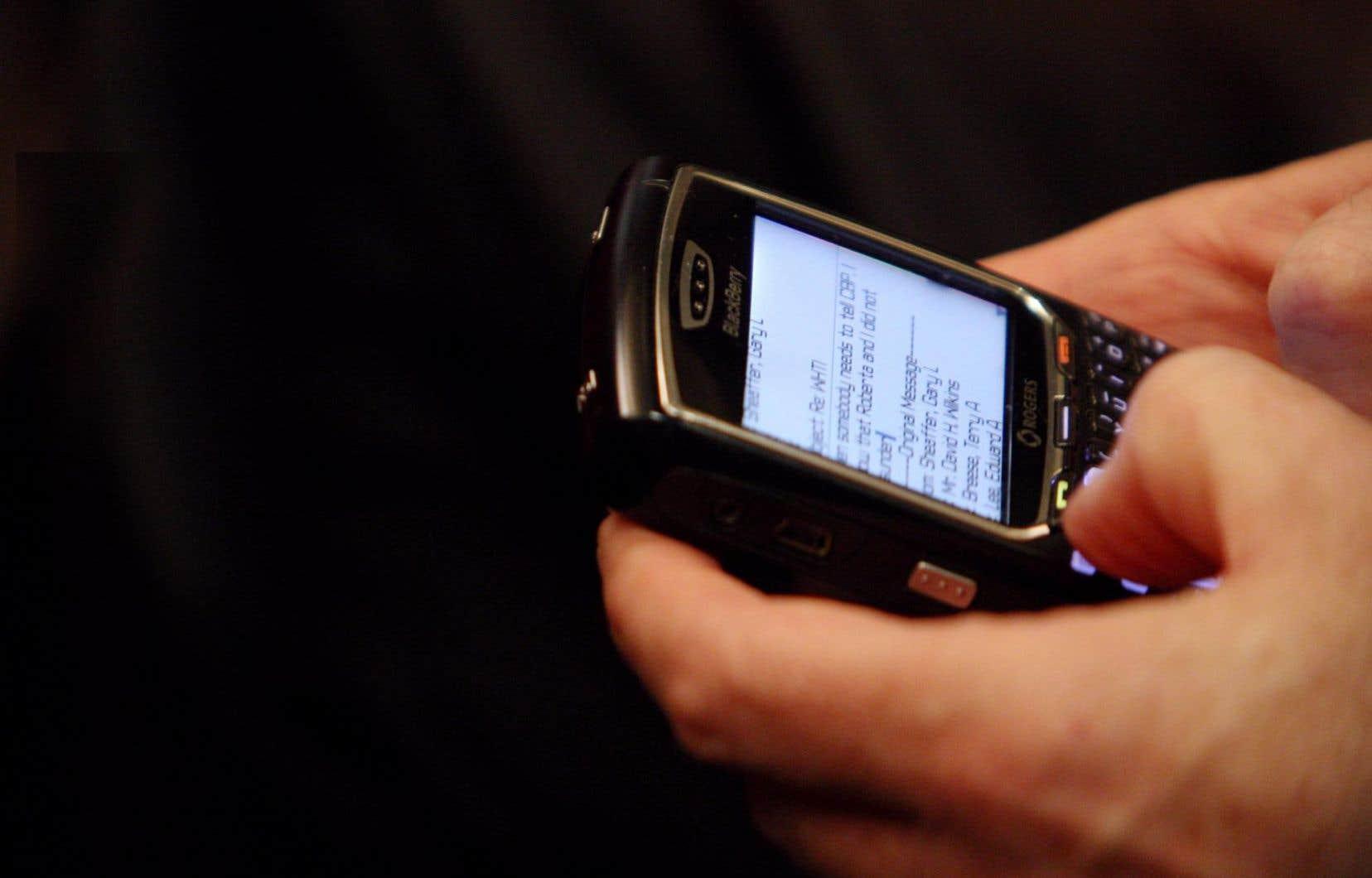 Selon le patron de BlackBerry, le monde est un «sombre endroit» lorsque les entreprises placent leur réputation au-dessus du bien commun.
