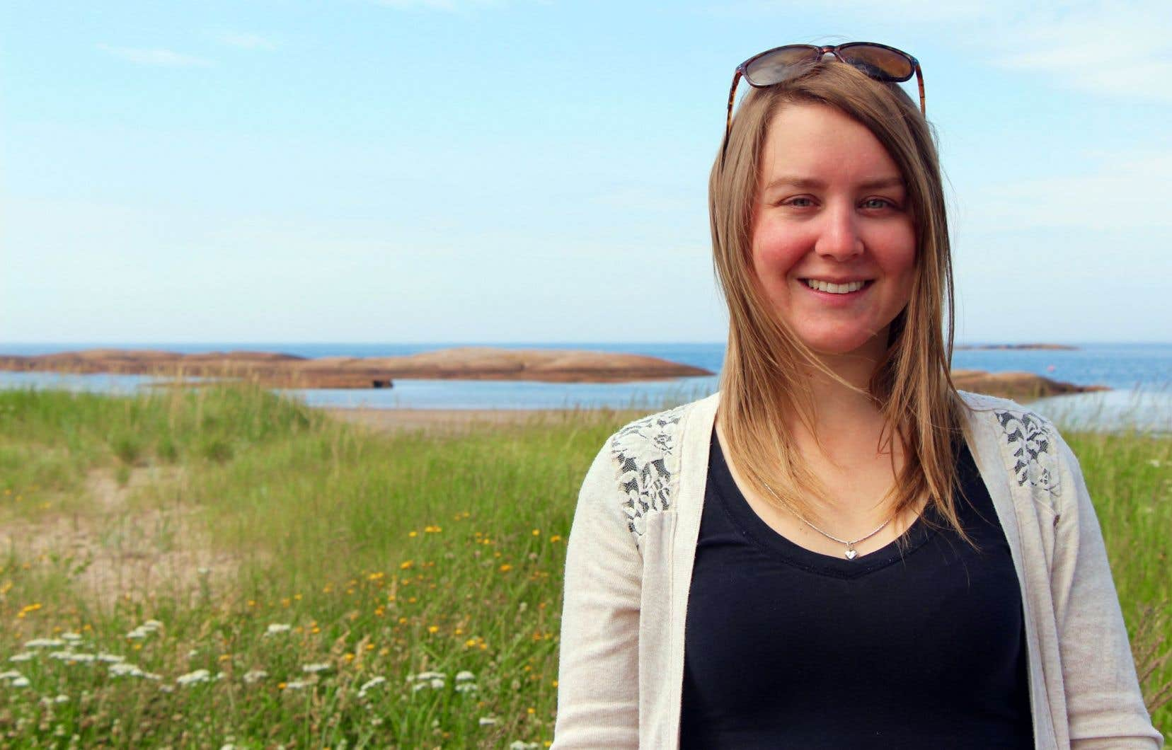 Stéphanie Gagné-Clermont, étudiante à la maîtrise en environnement sur le campus de Longueuil, s'intéresse particulièrement à la gestion des matières résiduelles (GMR).
