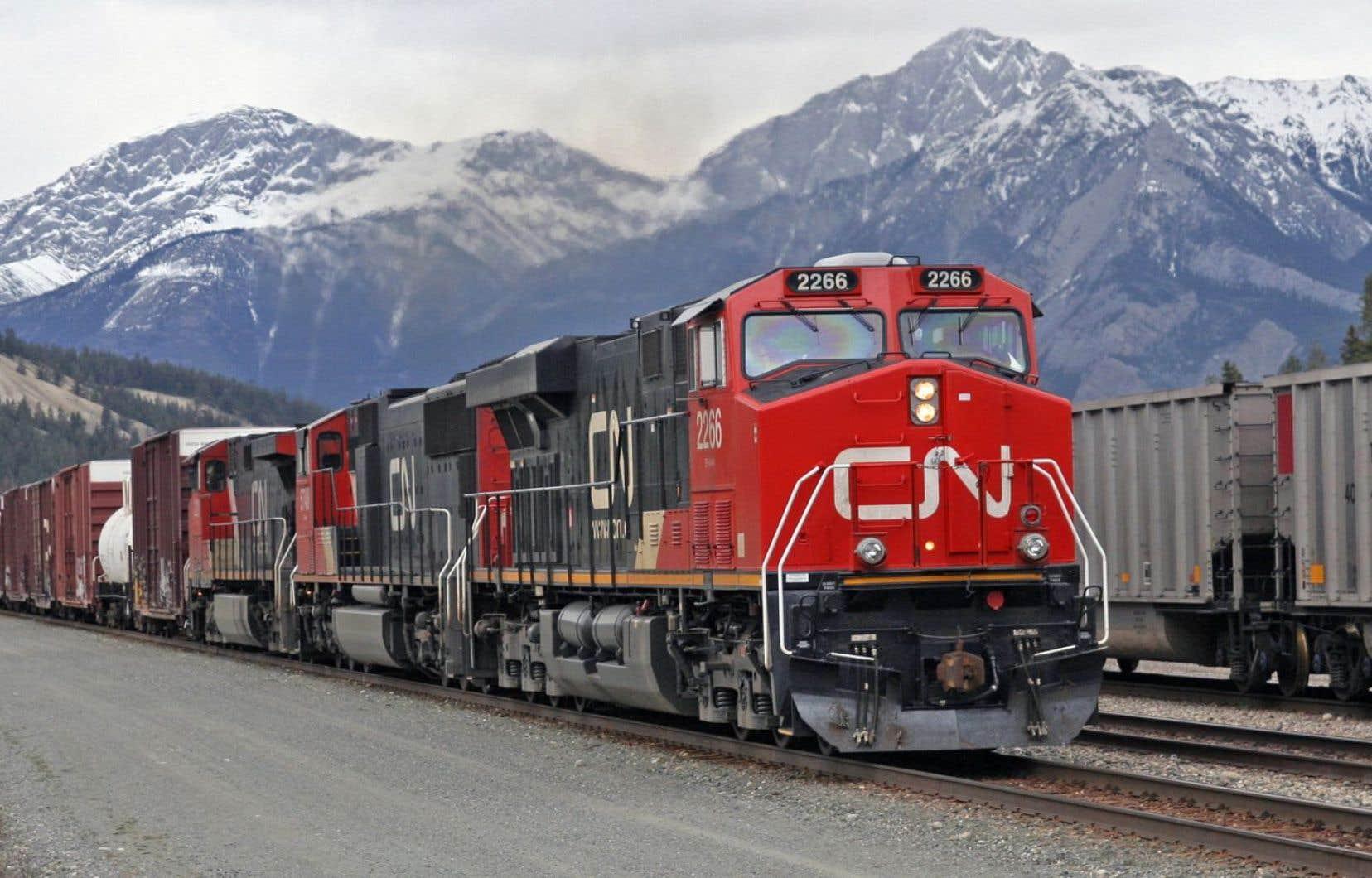 Le Canadien National a revu à la baisse ses perspectives financières pour l'exercice en cours.