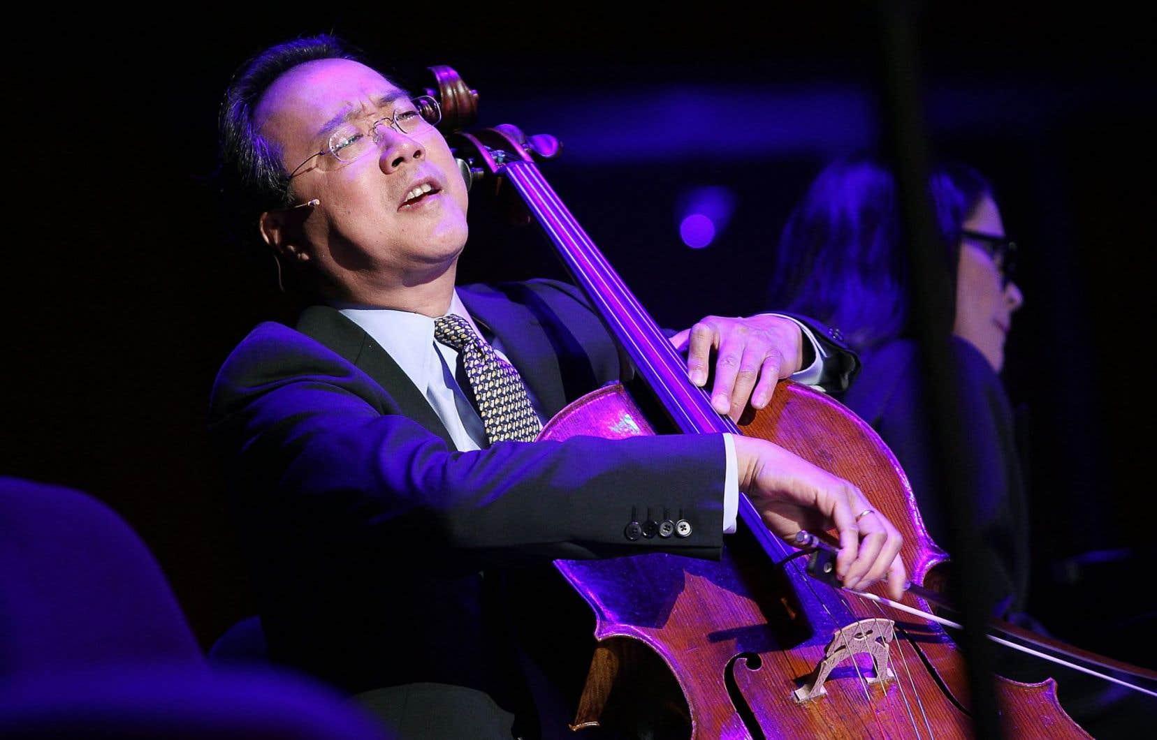 Le violoncelliste vedette Yo-Yo Ma jouera les «Suites pour violoncelle» n°4, 5 et6 de Bach à la Maison symphonique de Montréal.