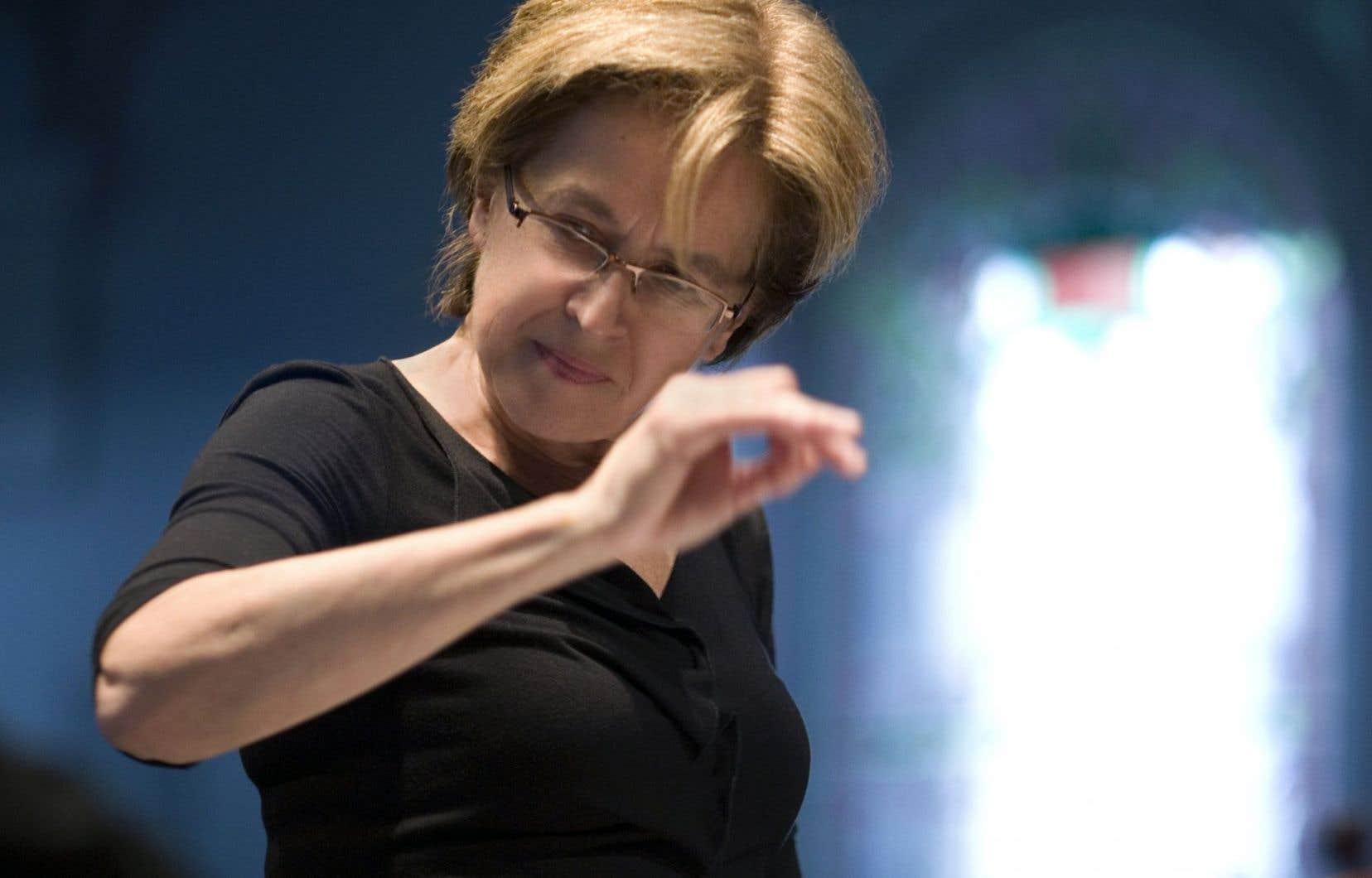 La soirée a été marquée par l'annonce du départ de Lorraine Vaillancourt de la direction artistique du NEM.