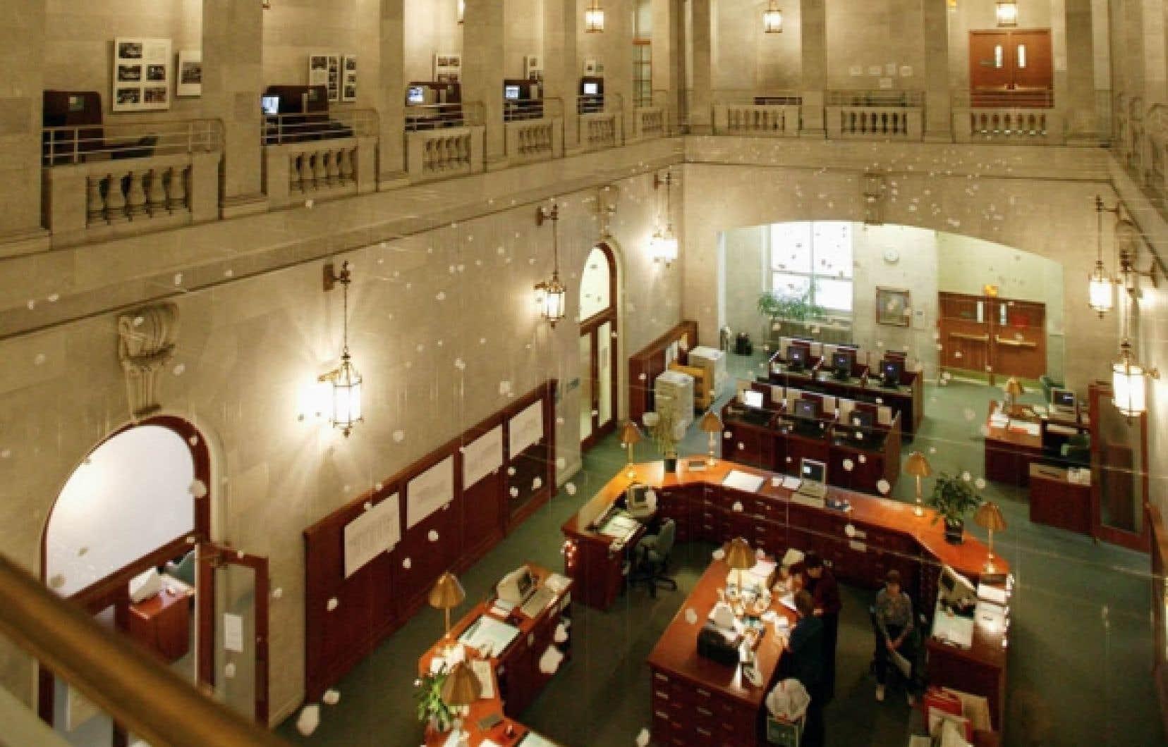 L'ancienne Bibliothèque municipale de Montréal