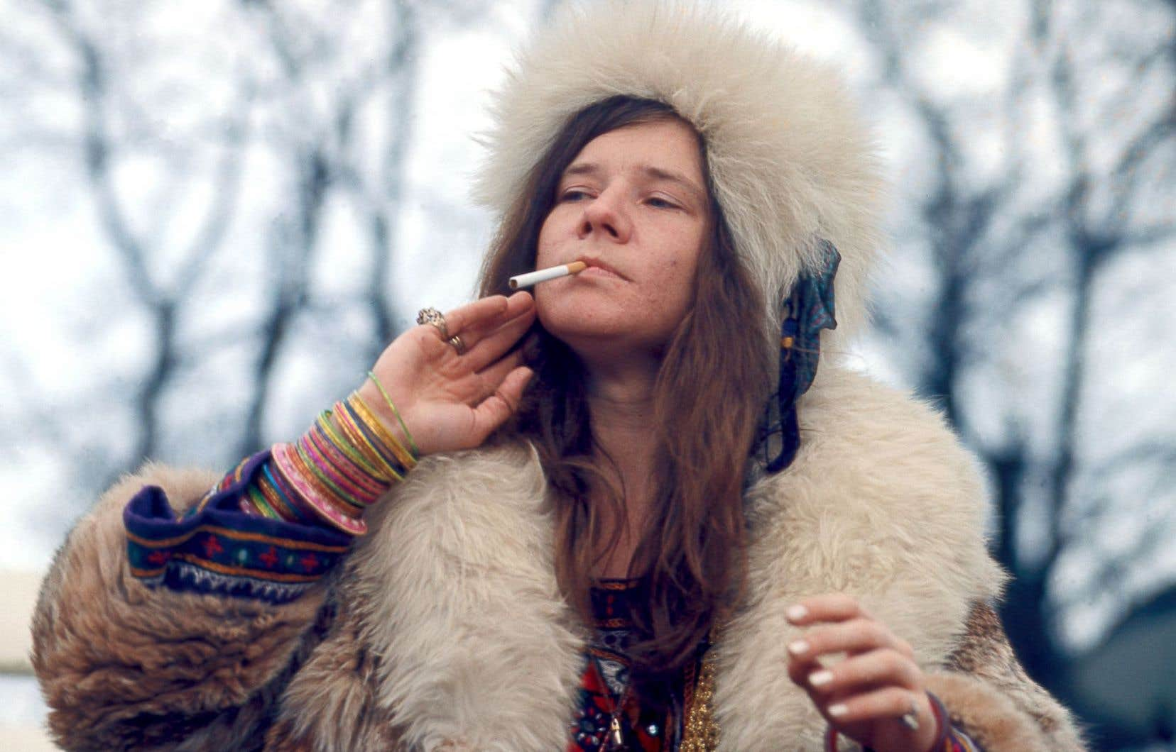 Janis Joplin fut la première grande «star» féminine du rock.