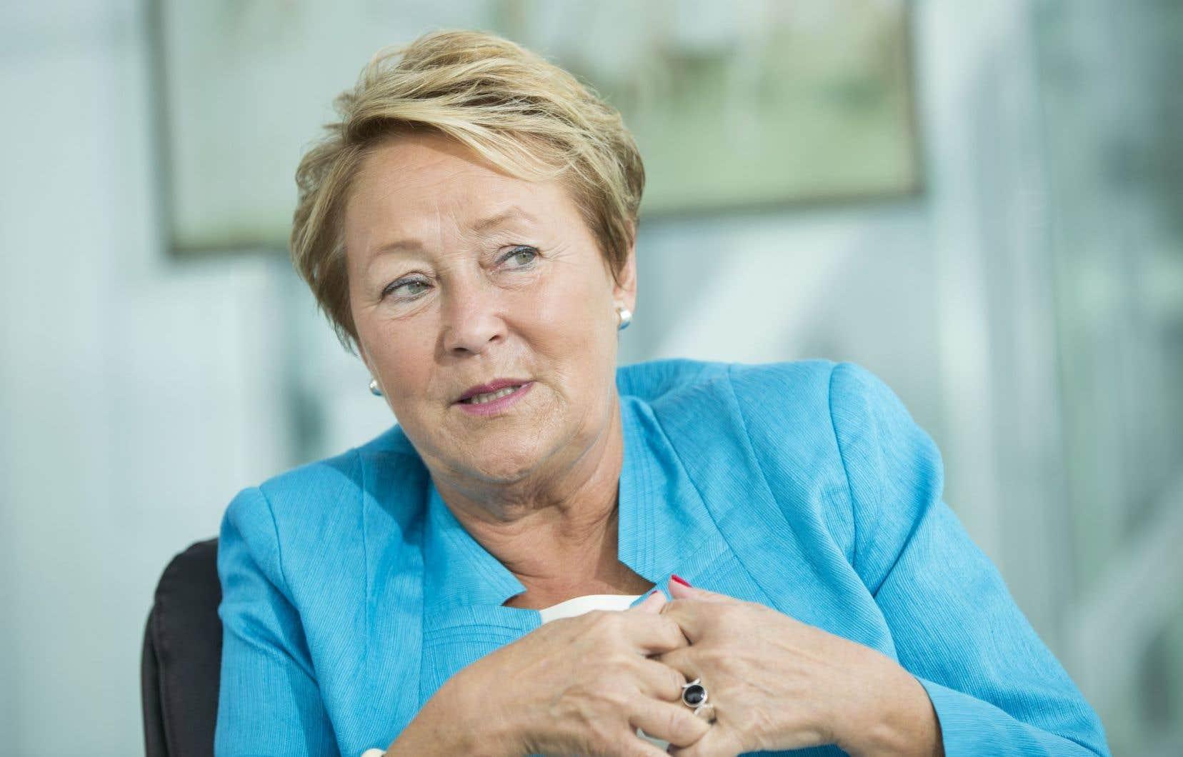 «Je n'avais pas eu de signe avant-coureur, même si je suis en contact régulier avec son cabinet», confie en entretien l'ex-première ministre Pauline Marois.