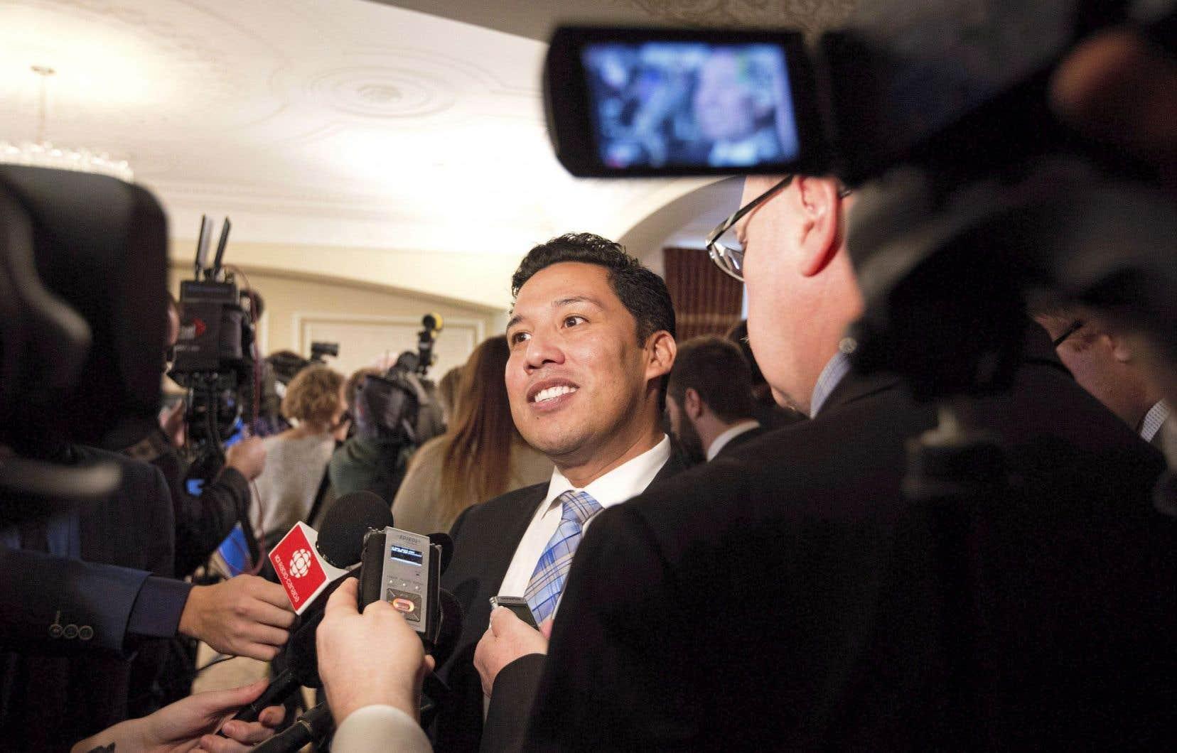 Ricardo Miranda a été nommé ministre de la Culture et du Tourisme et responsable des Affaires francophones de l'Alberta, en début d'année.