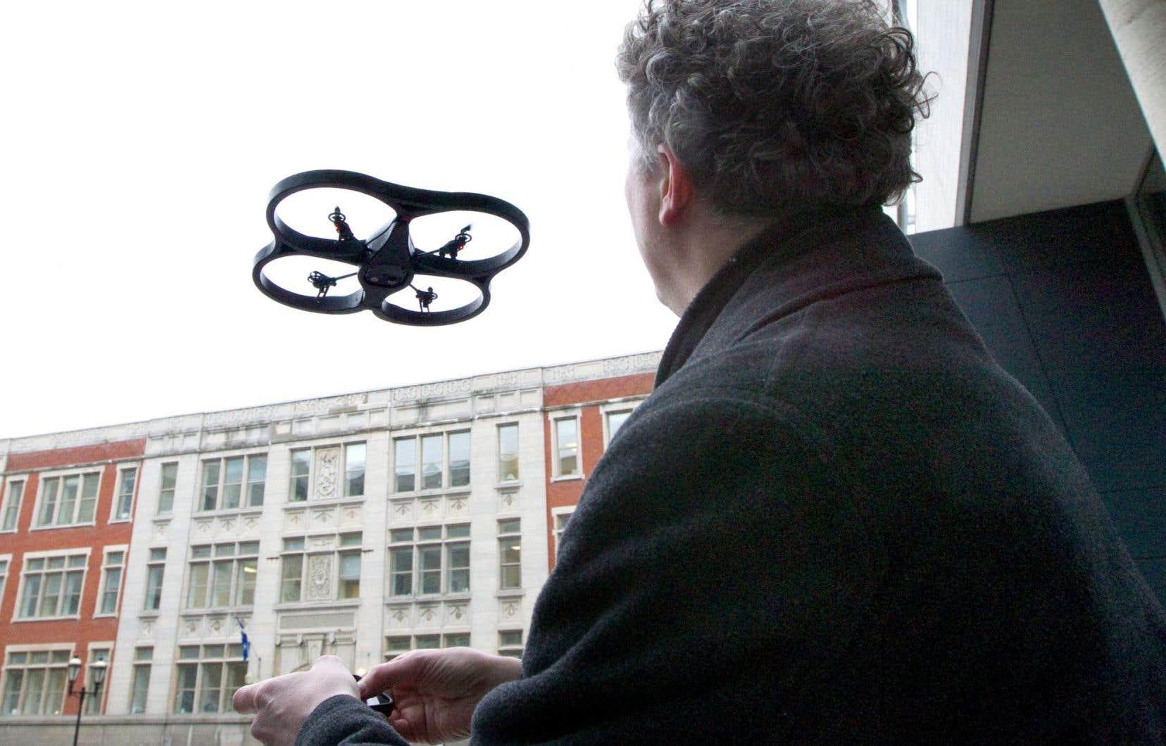 Des représentants du Centre d'excellence sur les drones seront notamment de la mission de l'UMQ dans l'État de New York.