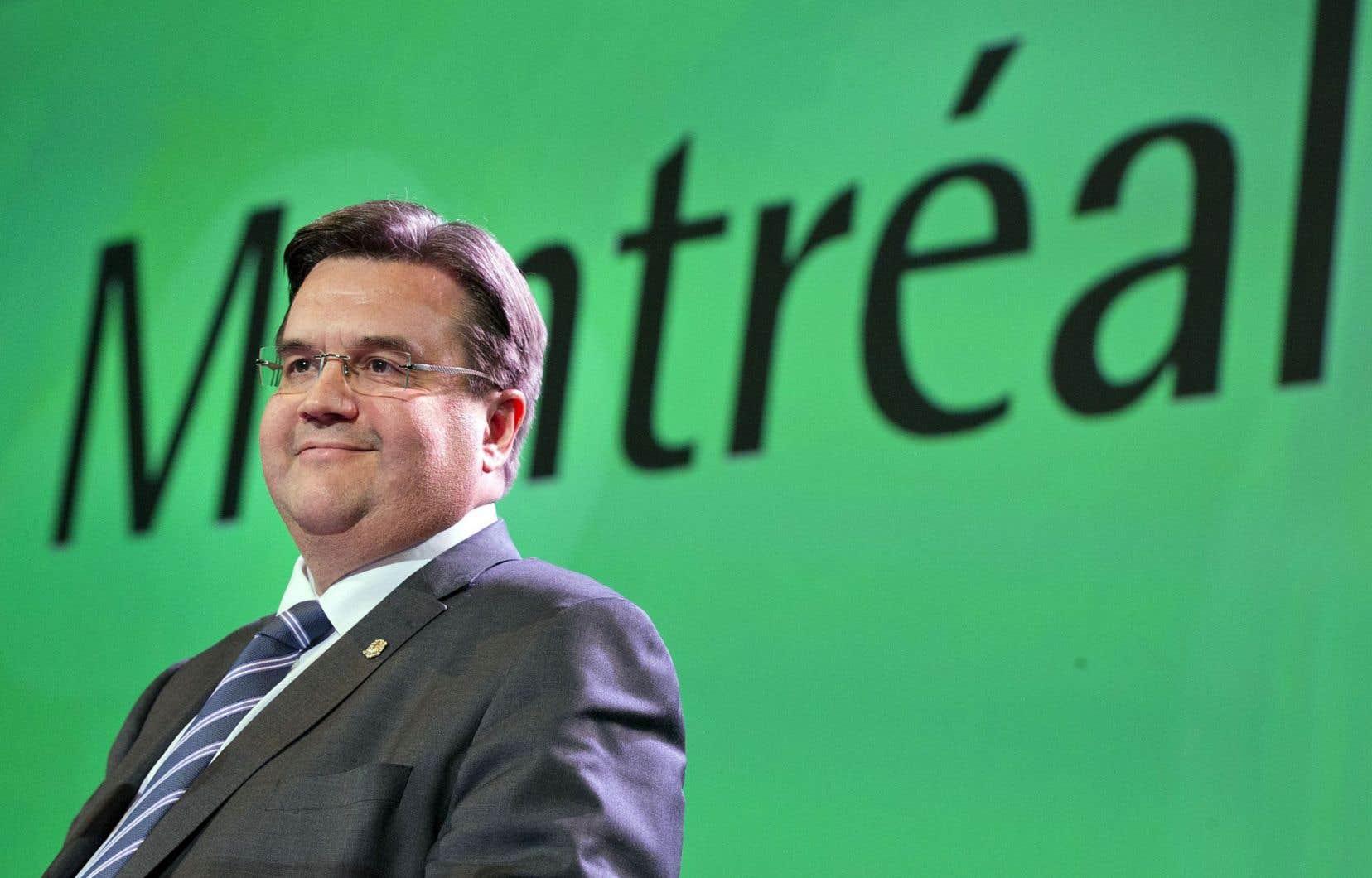 Denis Coderre est le président d'honneur du 84econgrès de l'Acfas.