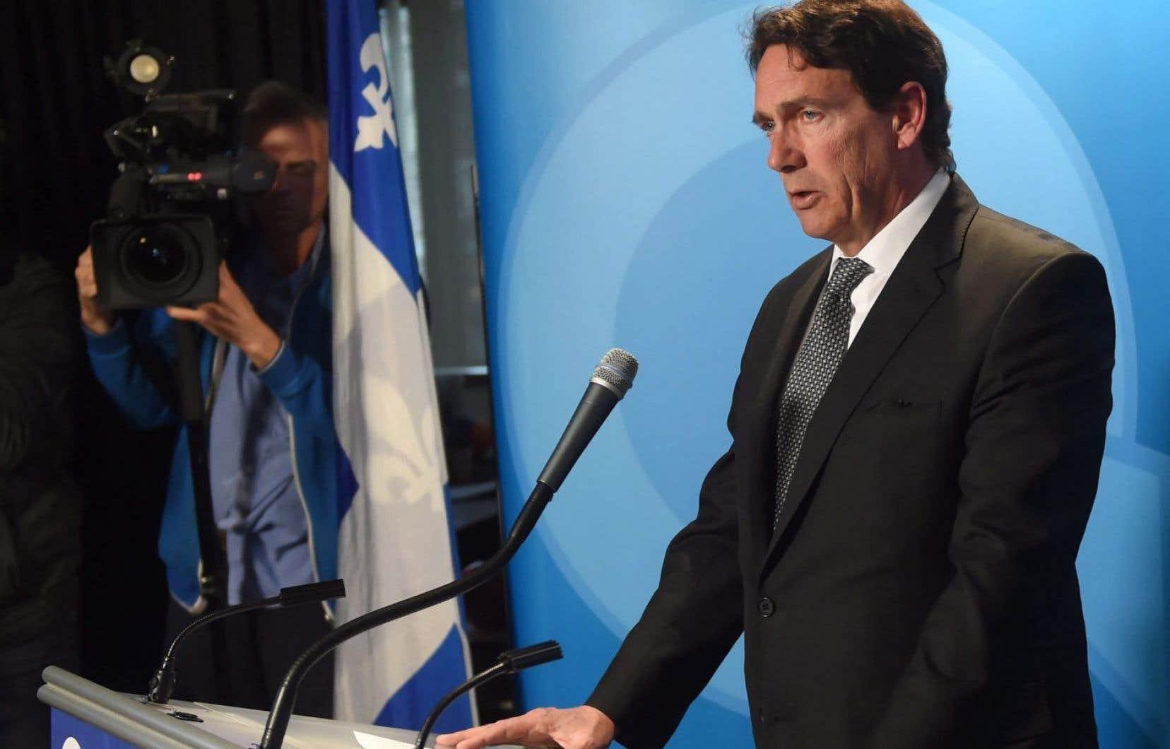 L'ex-chef du Parti québécois, Pierre Karl Péladeau, a démissionné le 2 mai dernier.