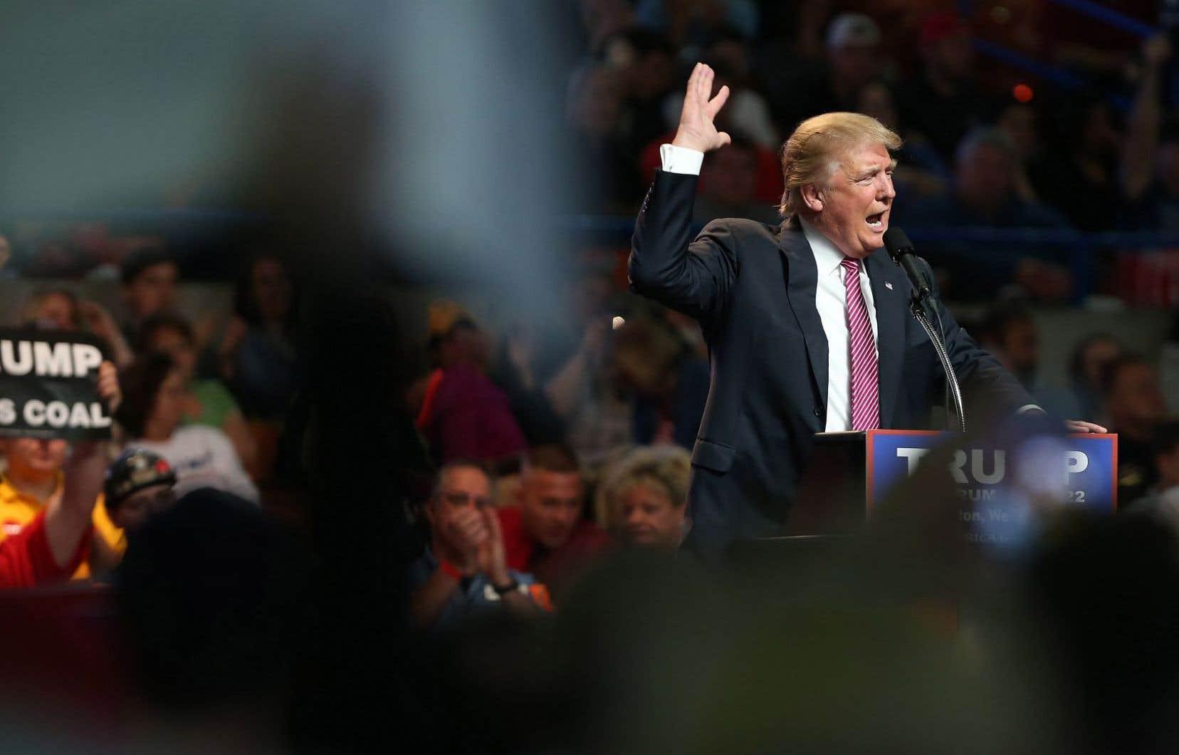 La réussite de la campagne de Donald Trump marque l'apogée de l'évolution de la politique américaine.