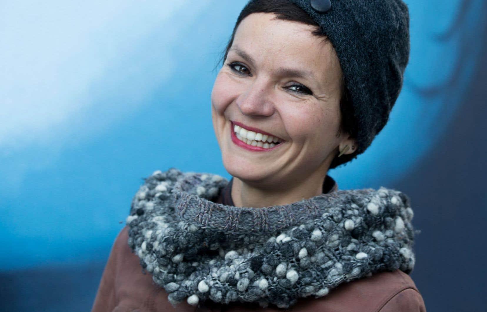 La cinéaste et écrivaine québécoise, Anaïs Barbeau-Lavalette
