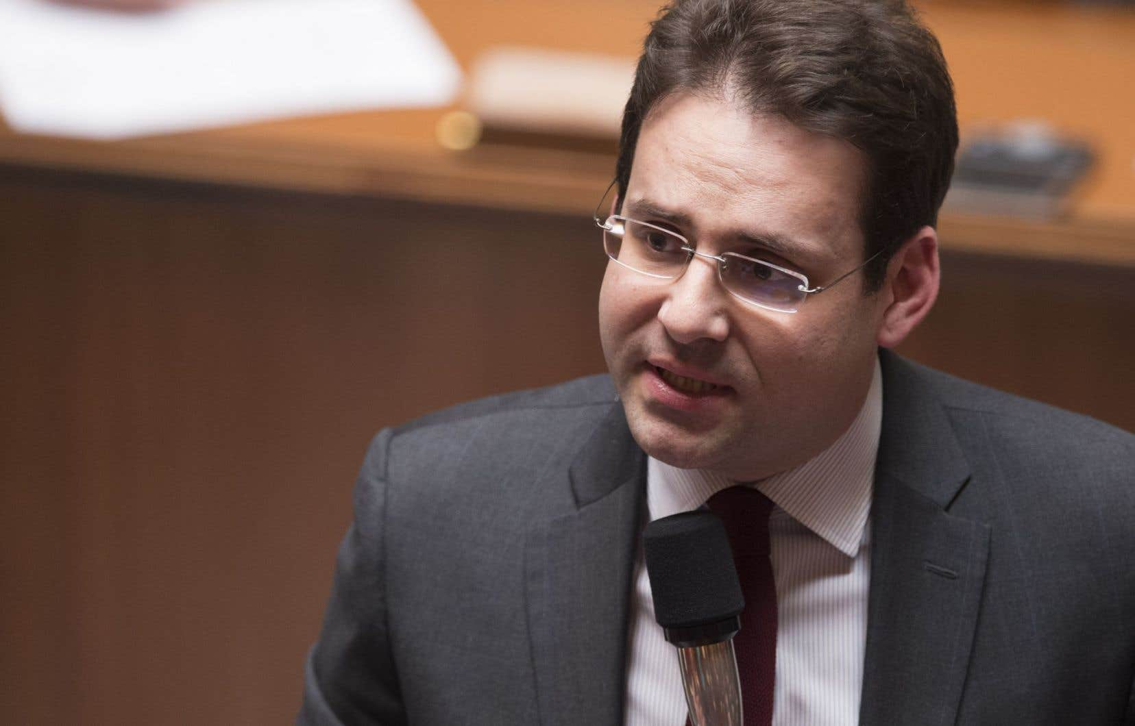 Matthias Fekl, secrétaire d'État français au Commerce extérieur