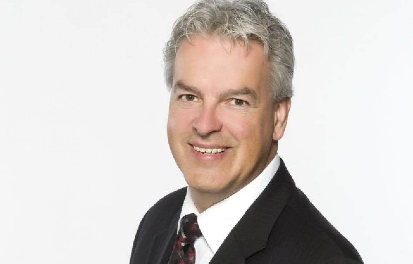 Bernard Sévigny, qui succède à Suzanne Roy, a été élu mercredi par les membres du conseil d'administration de l'UMQ.