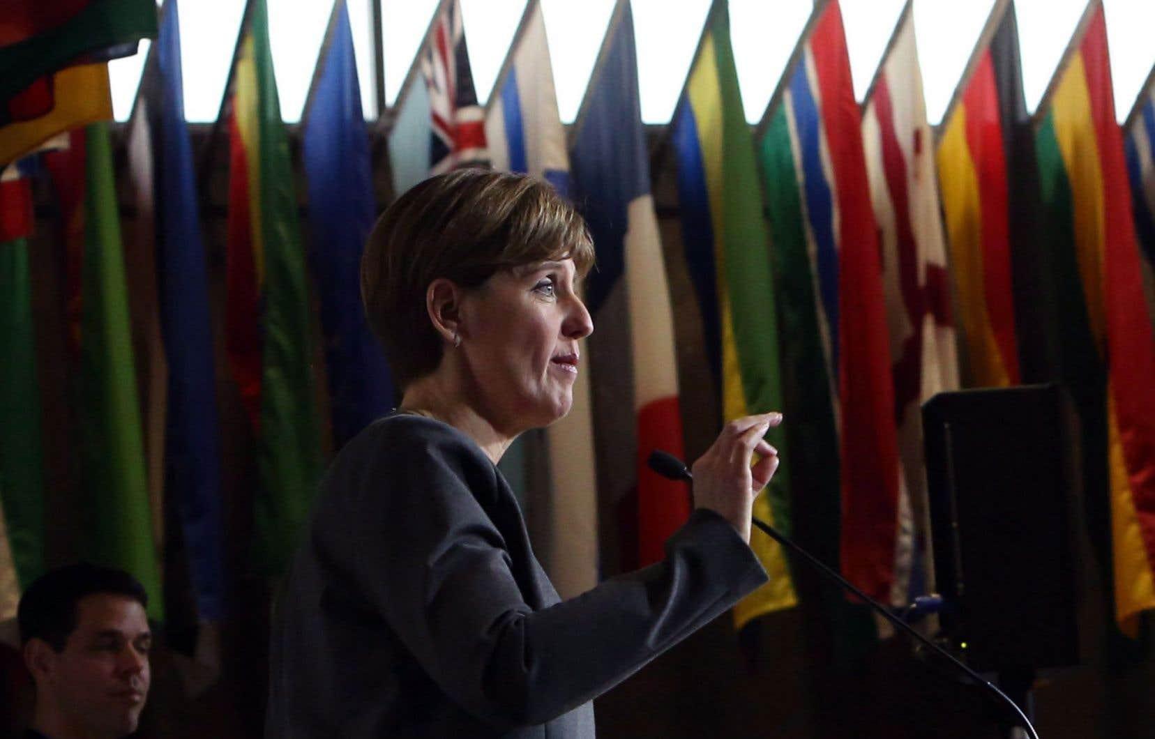 La ministre sherbrookoise Marie-Claude Bibeau a entrepris une révision des pays bénéficiaires.