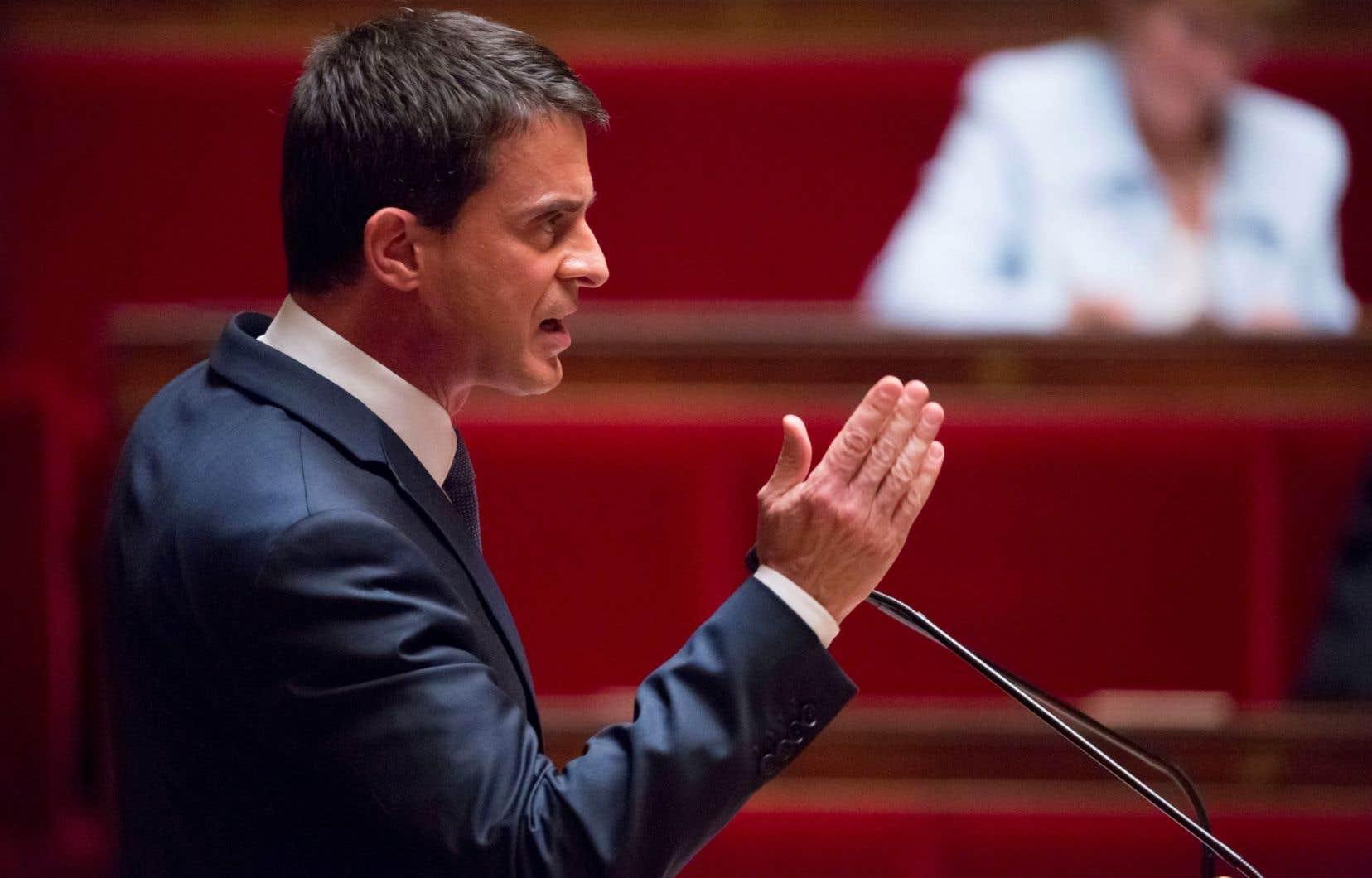 Le premier ministre, Manuel Valls, a défendu bec et ongles la réforme du travail.