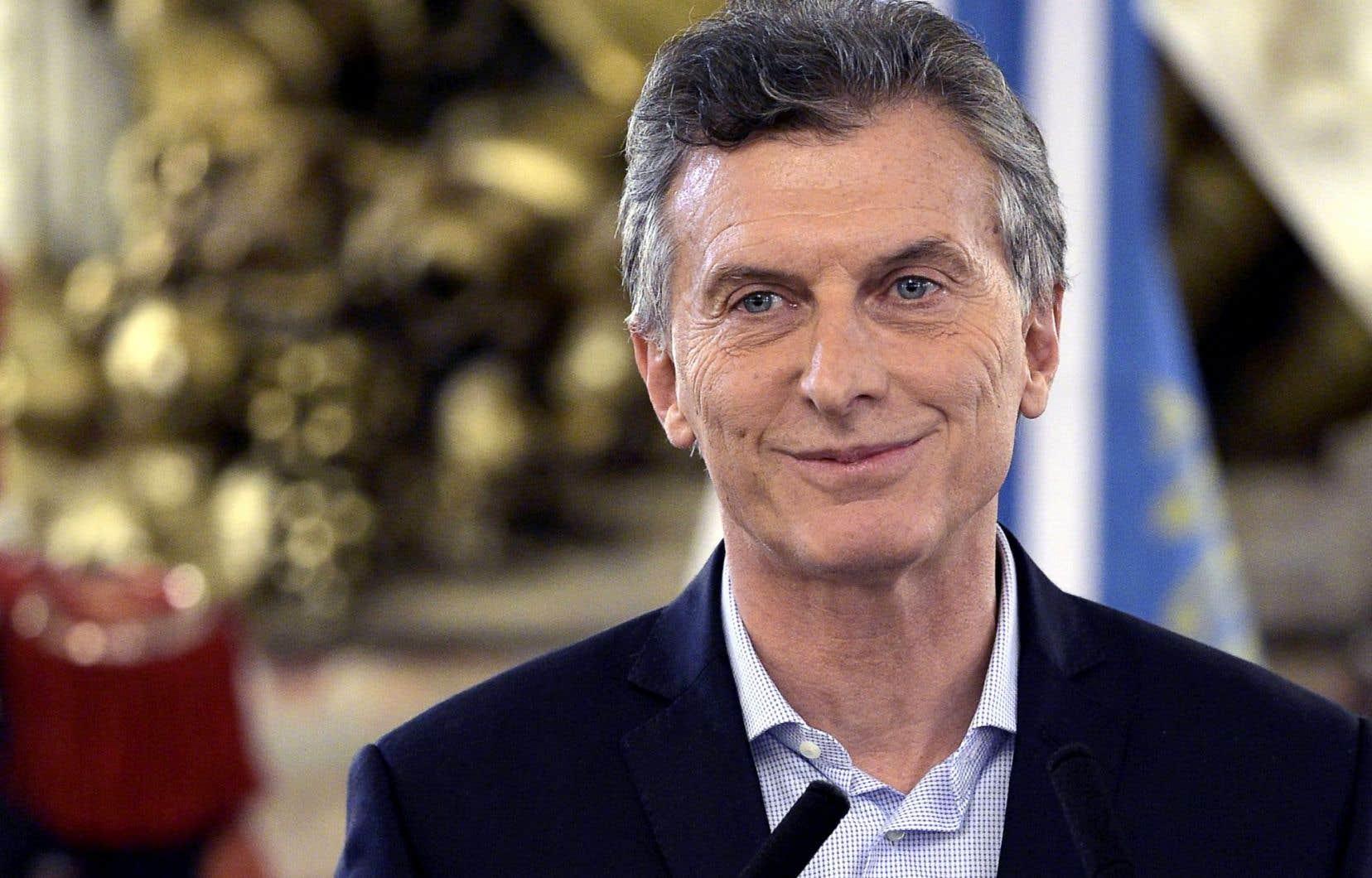 Les réformes du président de l'Argentine, Mauricio Macri, sont de plus en plus contestées.