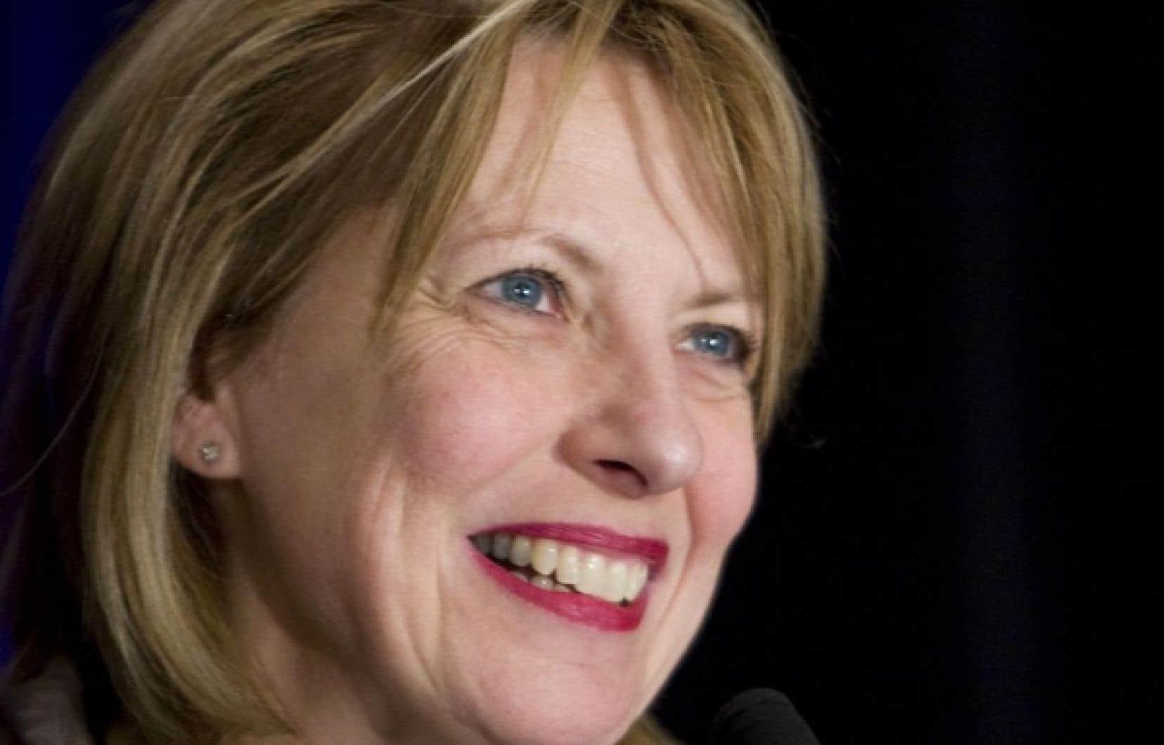 Christine St-Pierre, ministre responsable de la Charte de la langue française