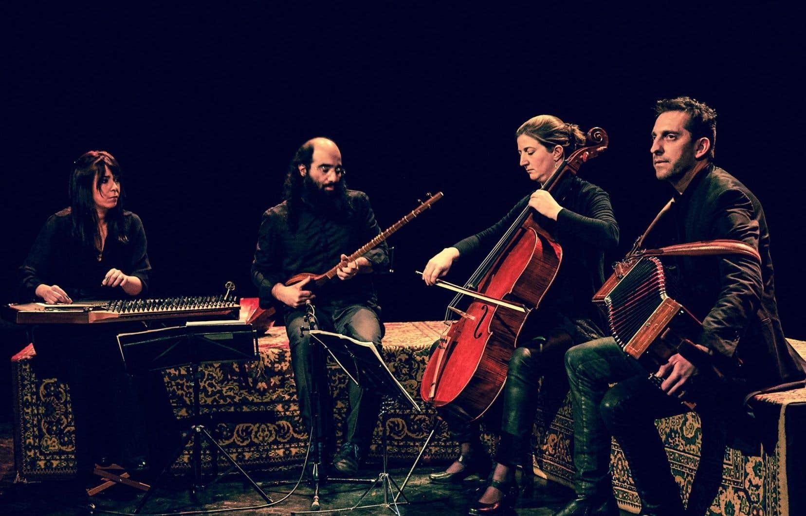 Kiya Tabassian et Didem Basar de Constantinople, et Kathy Adam et Didier Laloy de Belem offriront une création originale.