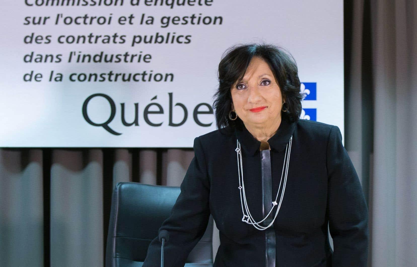 La juge France Charbonneau avait entre autres recommandé de reconstruire l'expertise interne du ministère.