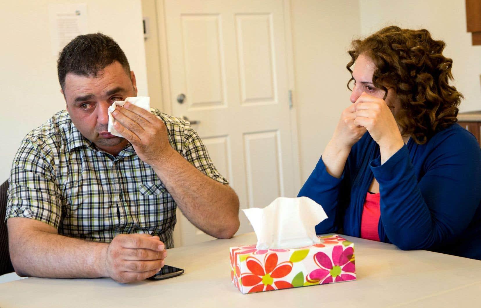 Marwan Al Oufan, sa femme et leur quatre enfants sont arrivés à Montréal il y a trois mois, puis se sont installés à Lévis.