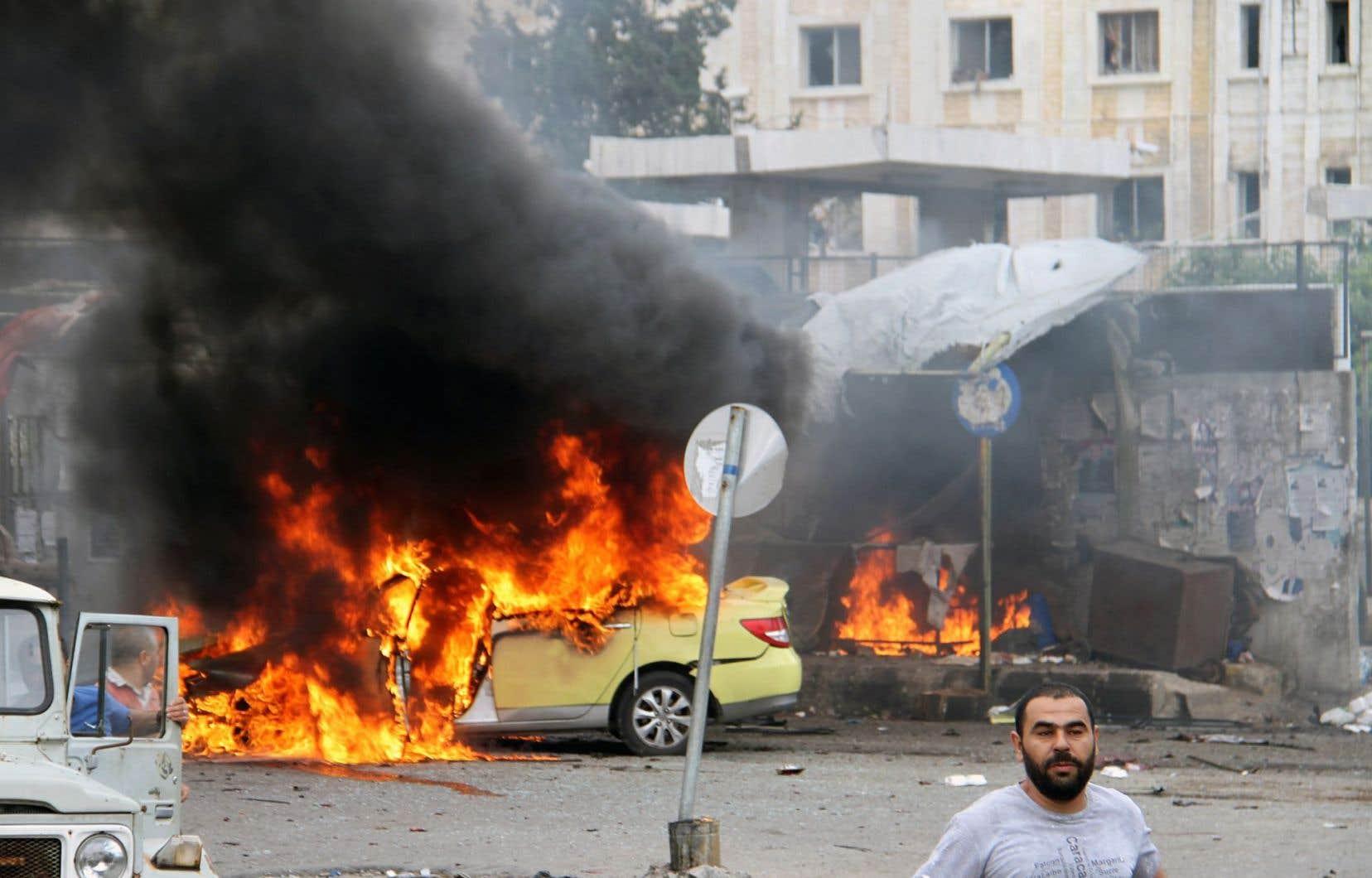 La ville de Tartous a été le théâtre de plusieurs explosions qui ont tué de nombreux civils.