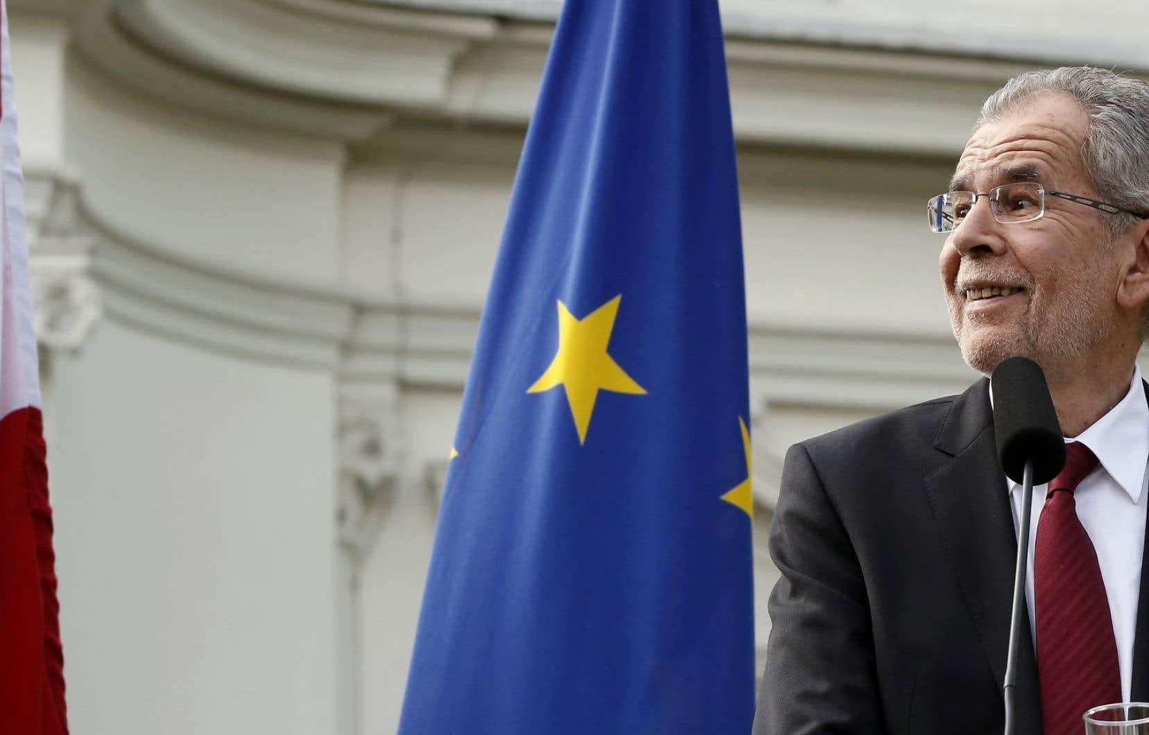 Fédéraliste, Van der Bellen est un partisan des «États-Unis d'Europe».