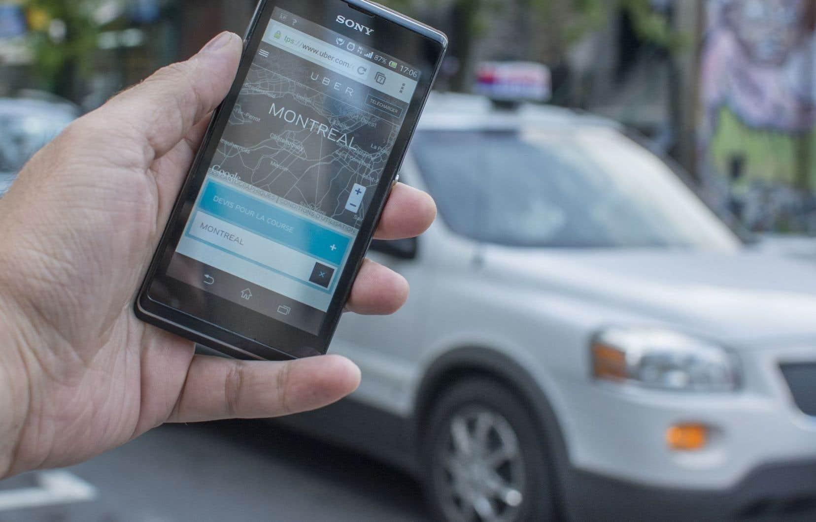 Le projet de loi 100 vise à forcer les exploitants de la plateforme Uber à se conformer aux mêmes règles que leurs concurrents de l'industrie du taxi, soit avoir un permis spécial et payer les taxes requises.