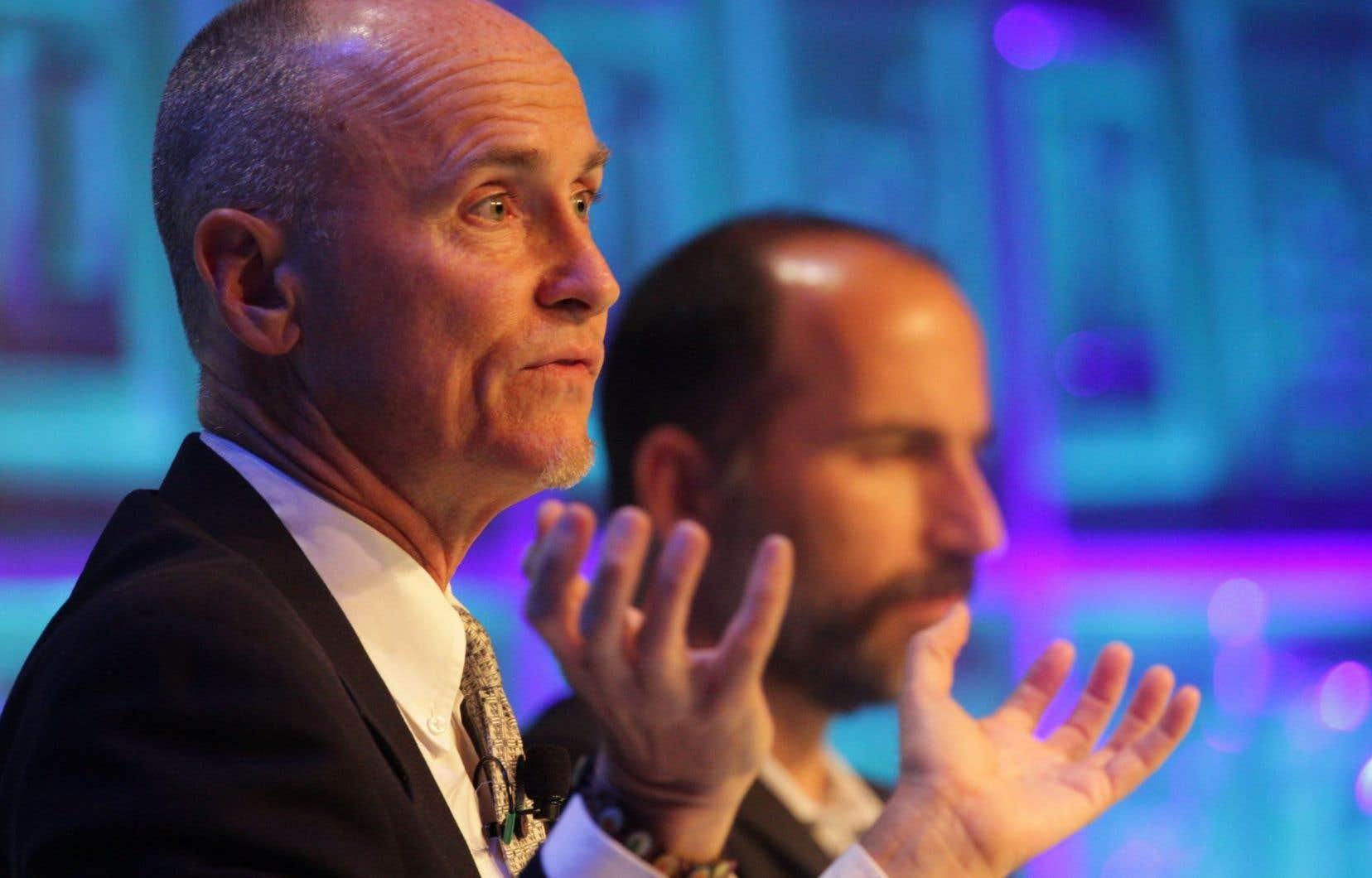 Le responsable de la stratégie mondiale d'Airbnb, Chip Conley
