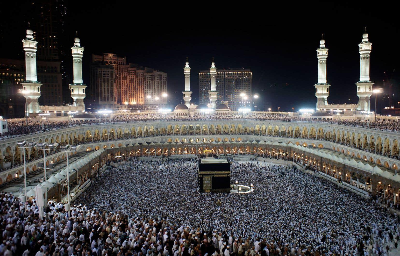 Le hajj regroupe chaque année près de deux millions de musulmans à La Mecque, en Arabie saoudite.