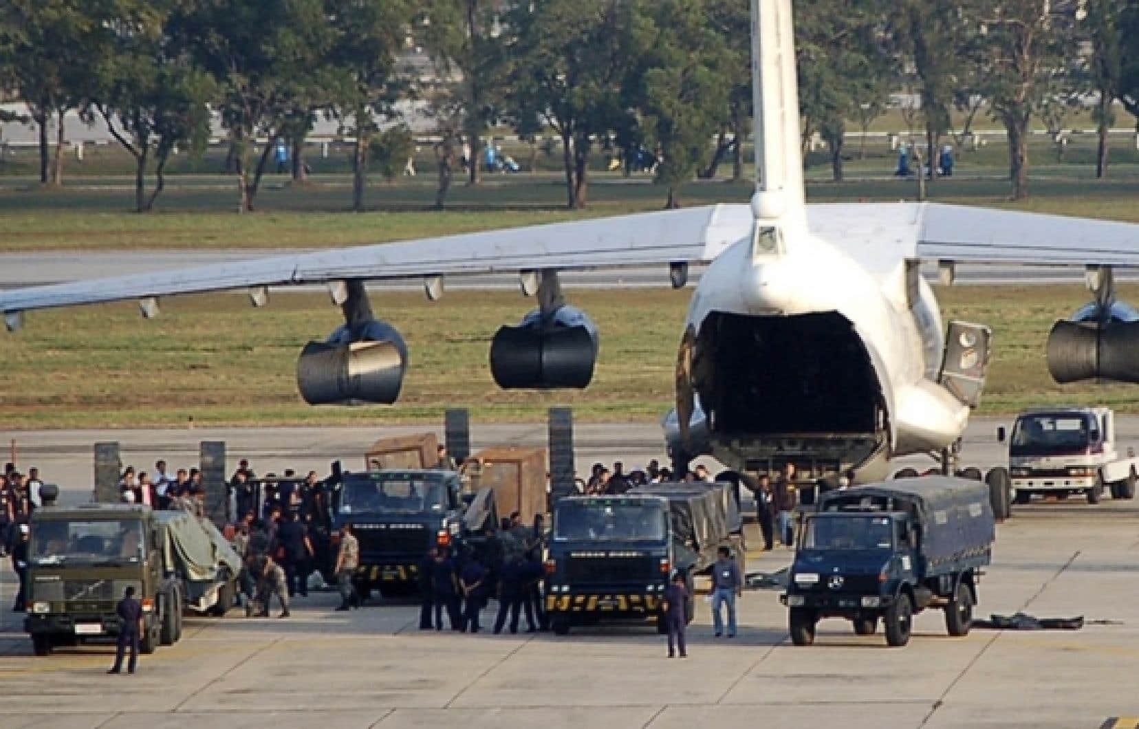 Un Ilyushin 76 a été saisi à Bangkok le 12 décembre.
