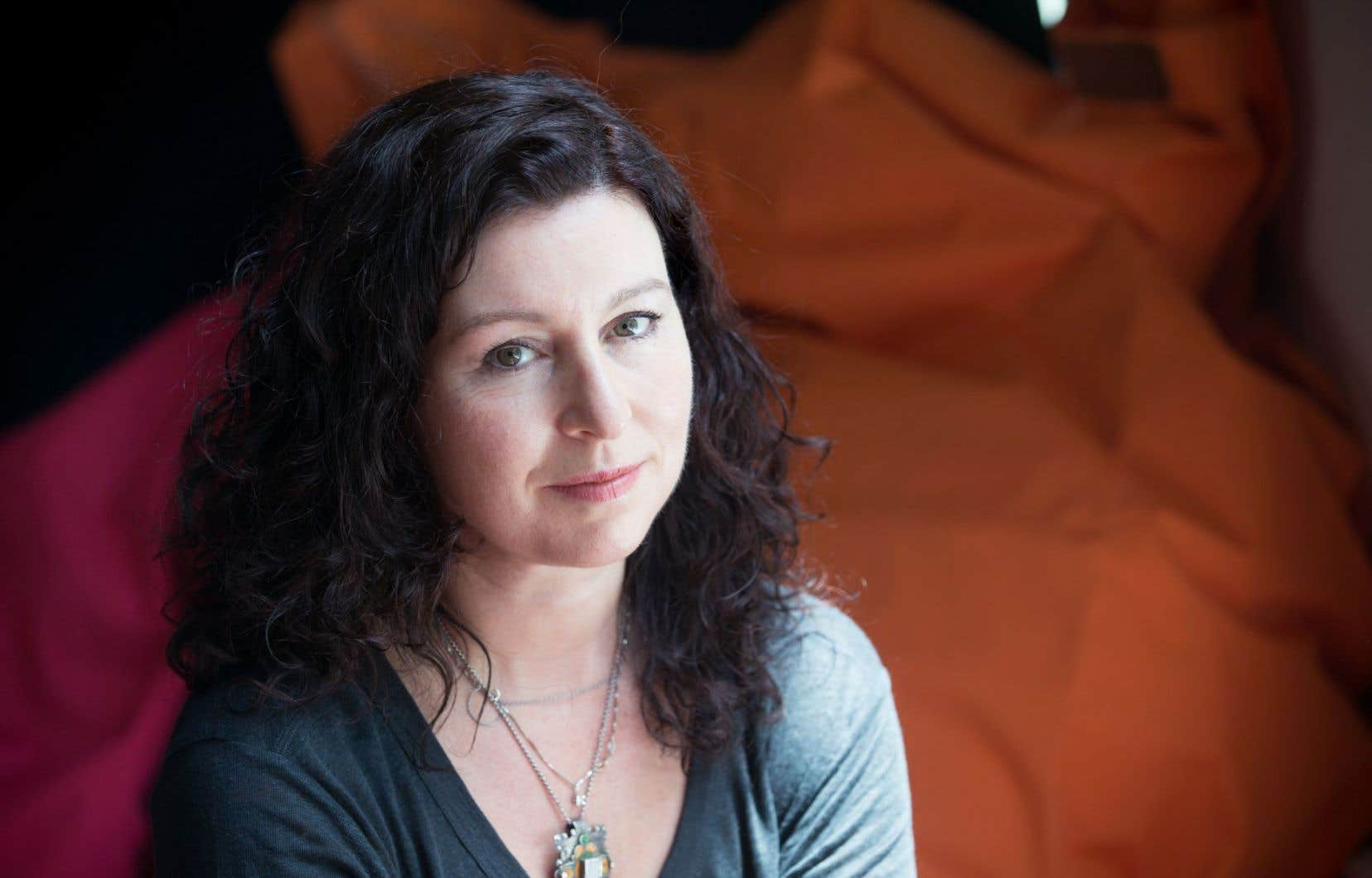 Stéphanie Jasmin est la cometteure en scène de «L'autre hiver», opéra contemporain qu'elle signe à huit mains avec Denis Marleau, l'écrivain Normand Chaurette et le compositeur Dominique Pauwels. «C'est un objet étrange, c'est le moins qu'on puisse dire.»