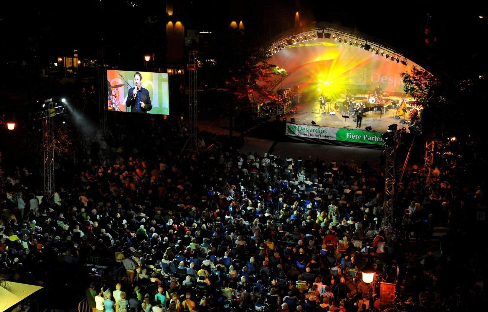 La scène Desjardins à Saint-Lambert, où auront lieu les principaux concerts du festival Classica.