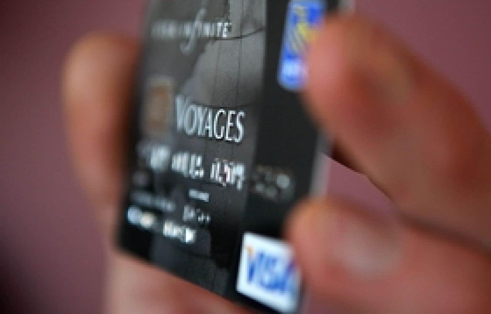 Les grandes sociétés émettrices de cartes de crédit ont constaté un bond de 5 à 10 % des délits.