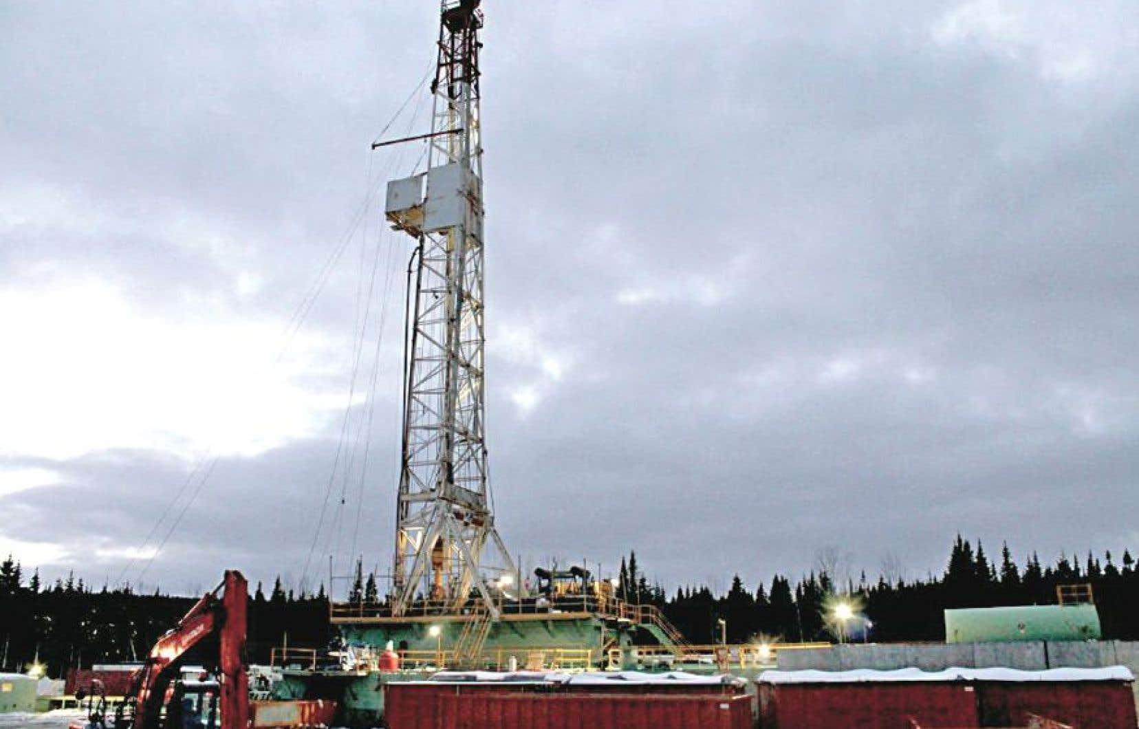 Le site Haldimand 4 que Petrolia exploite en Gaspésie
