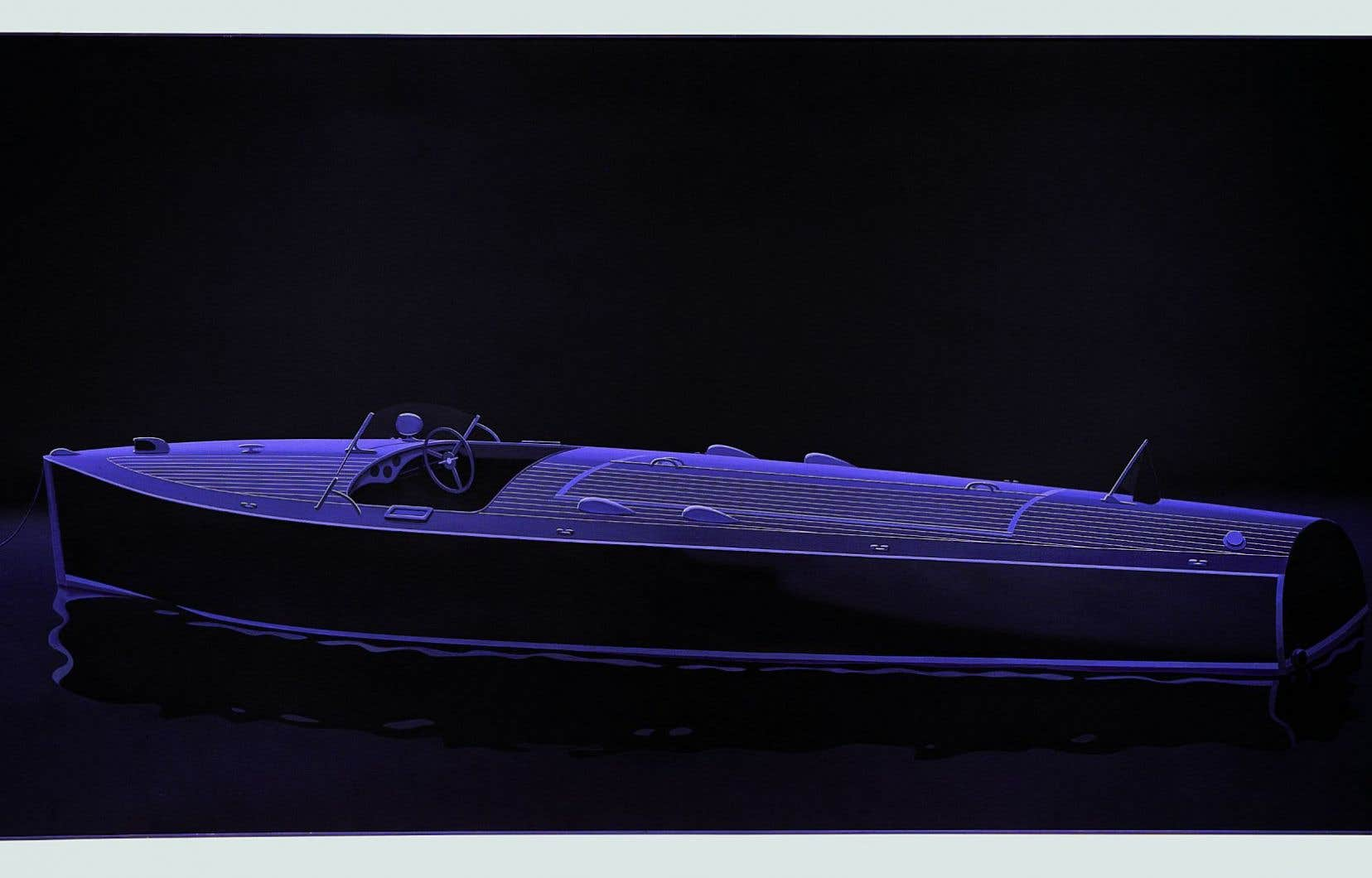 Edmund Alleyn, «L'invitation au voyage», 1989-1990