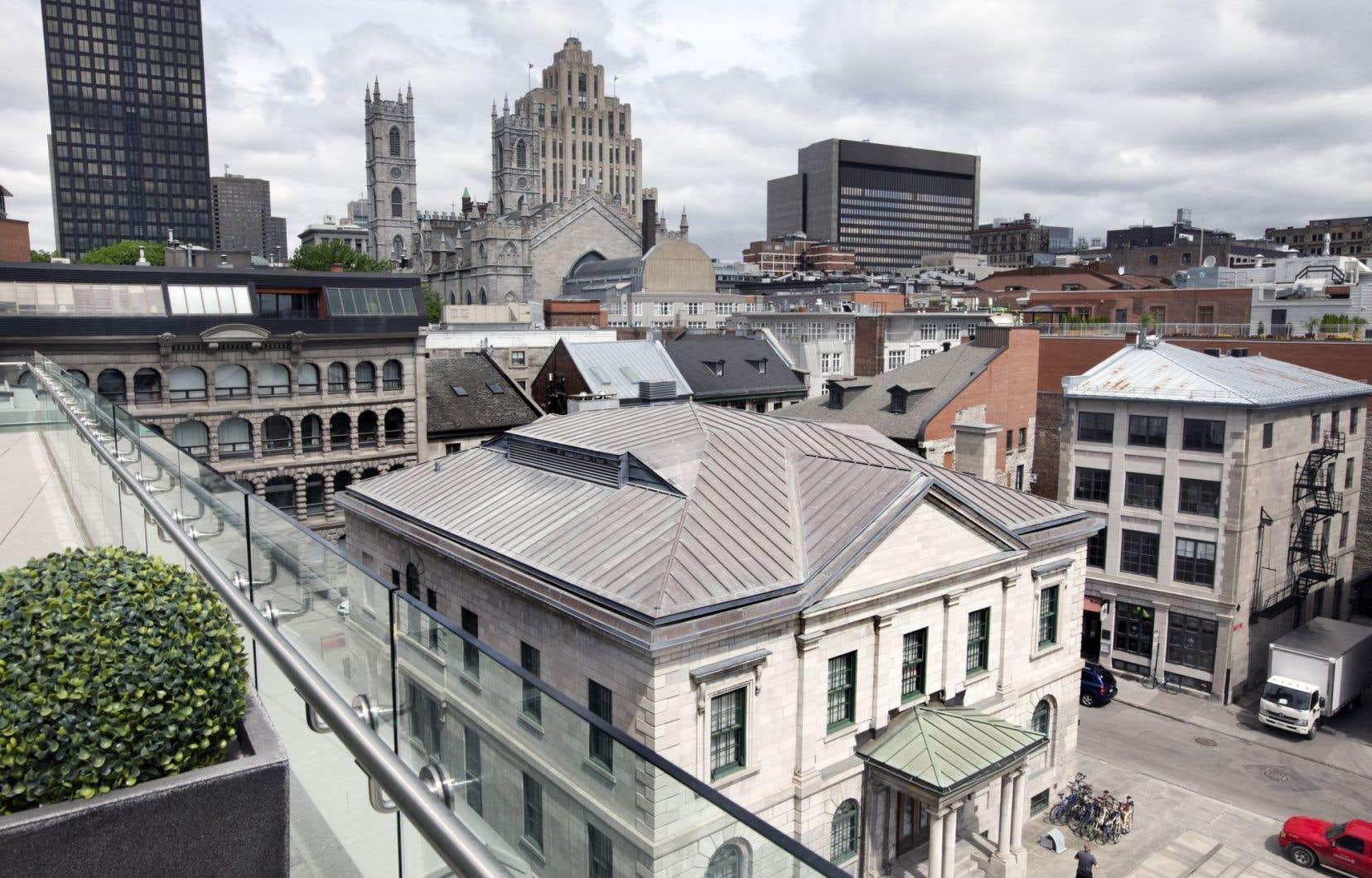 Le secteur du Vieux-Montréal est visé par la Stratégie centre-ville.