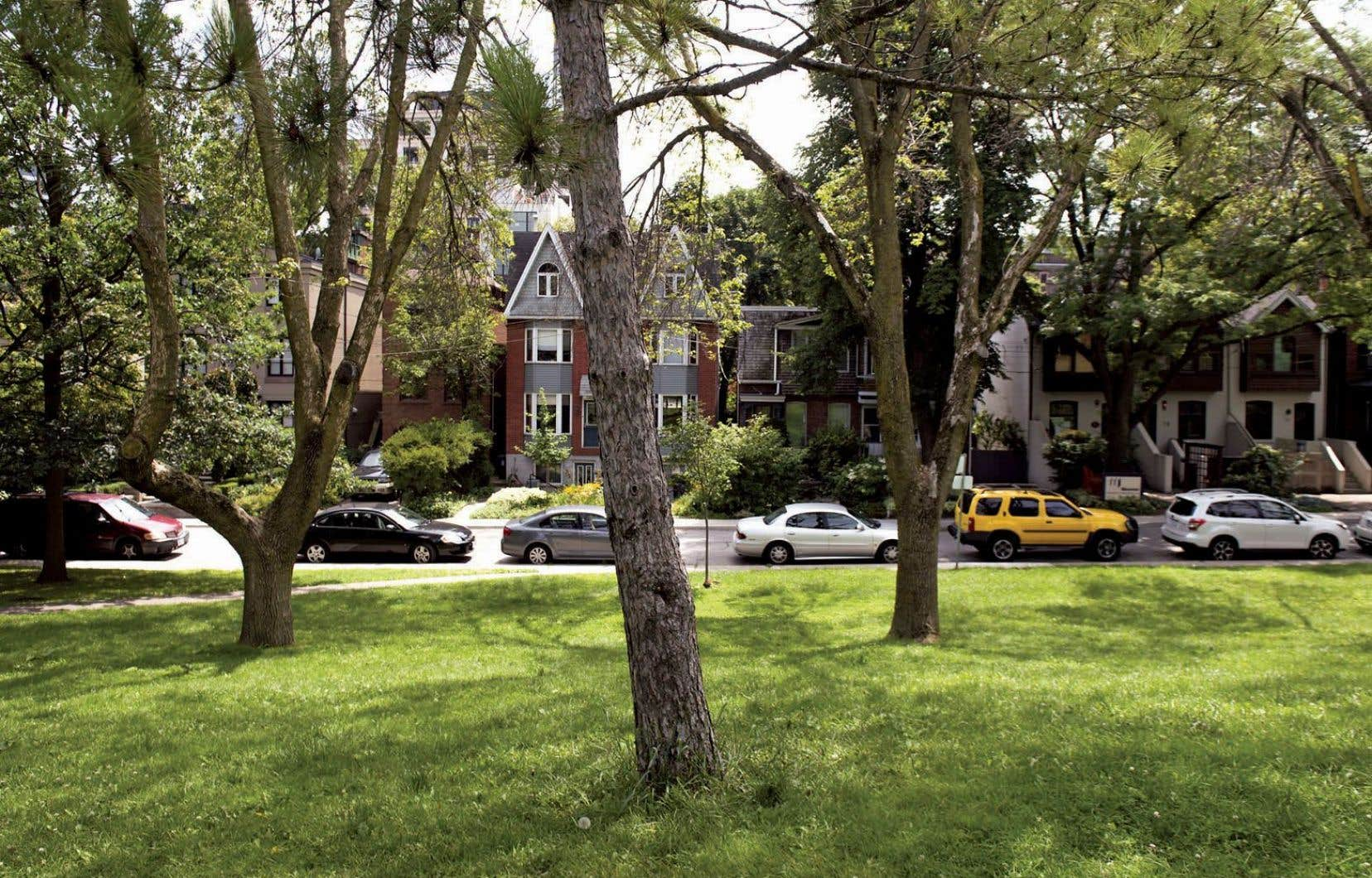 Les personnes vivant dans les quartiers verts ont tendance à être plus actives.
