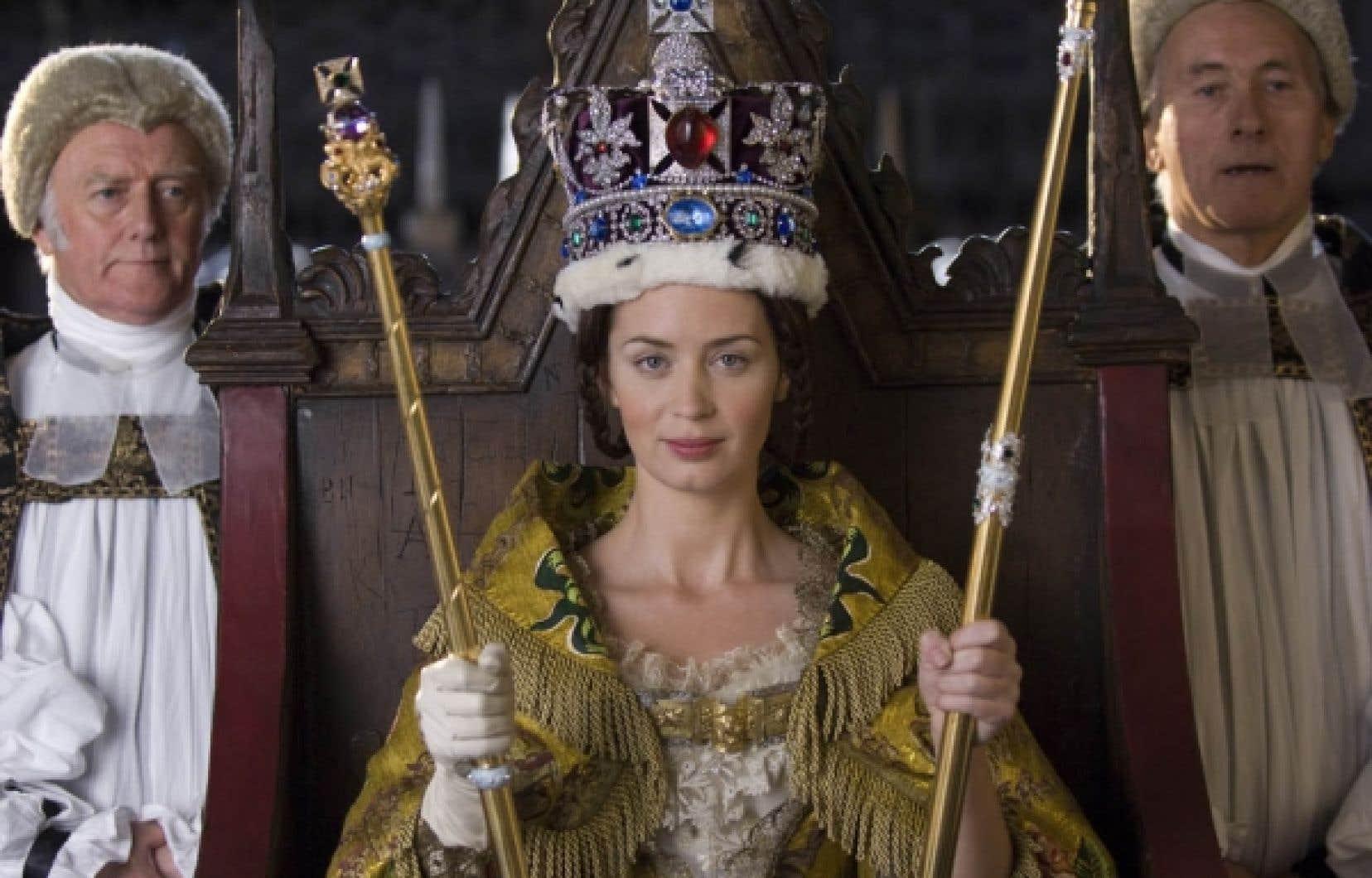 Emily Blunt dans le rôle de la reine Victoria