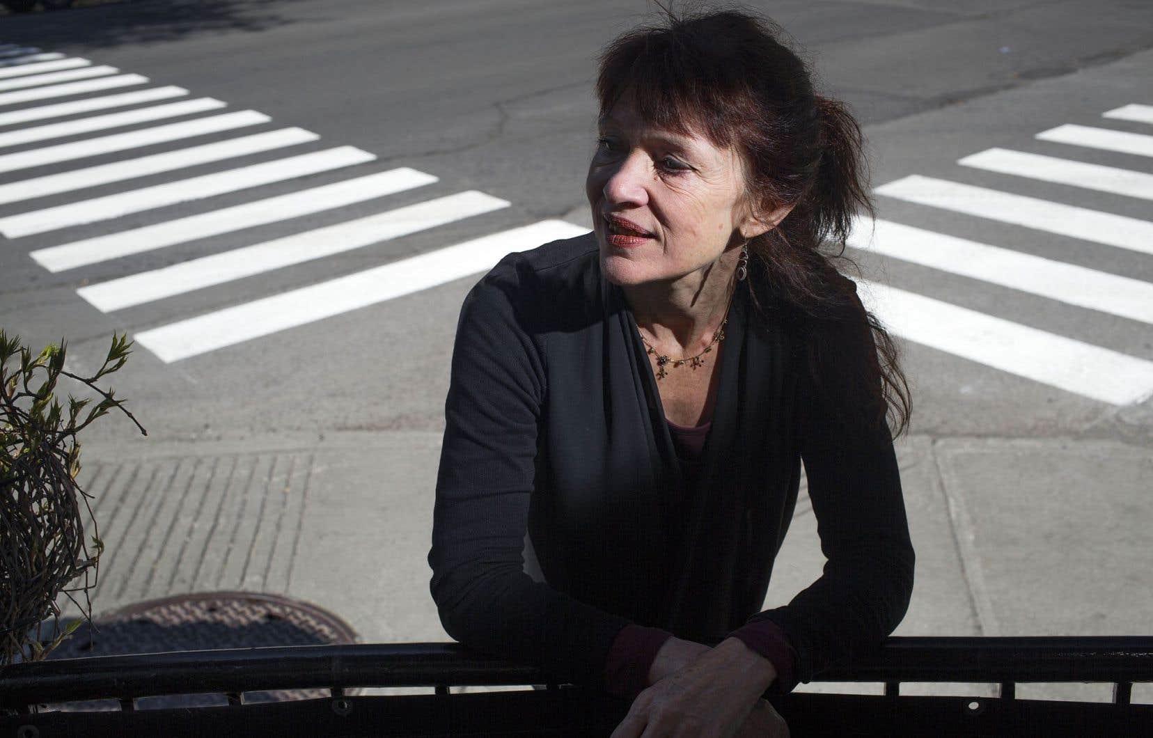 Nancy Huston est née en Alberta. Parisienne depuis les années 1970, elle était de passage dans la métropole québécoise ce printemps.
