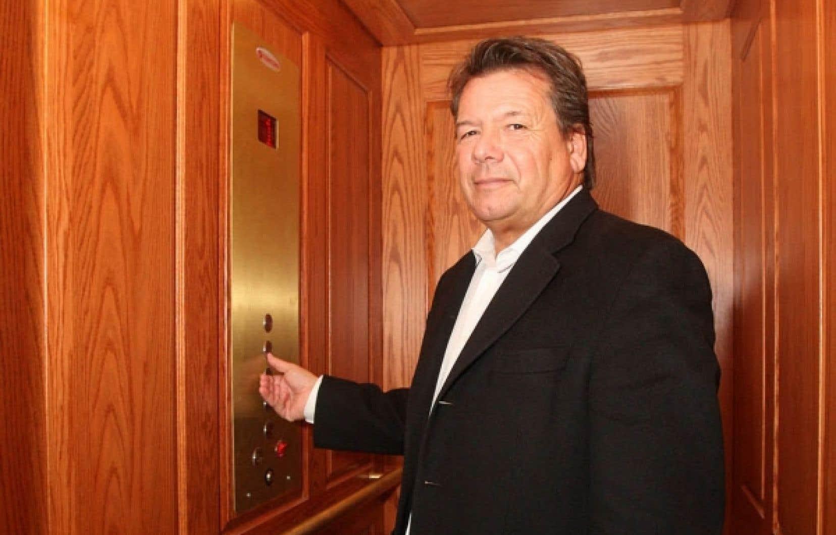 Un ascenseur résidentiel dont le coût se situe entre 25 000 et 30 000 $ peut ajouter 10 % à la valeur d'une propriété, avance Marcel Bourassa, selon qui ce produit est encore trop peu connu au Québec.