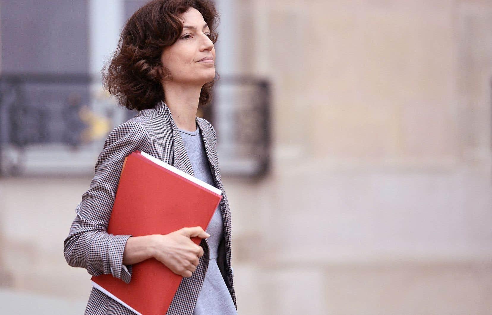 La ministre française de la Culture, Audrey Azoulay