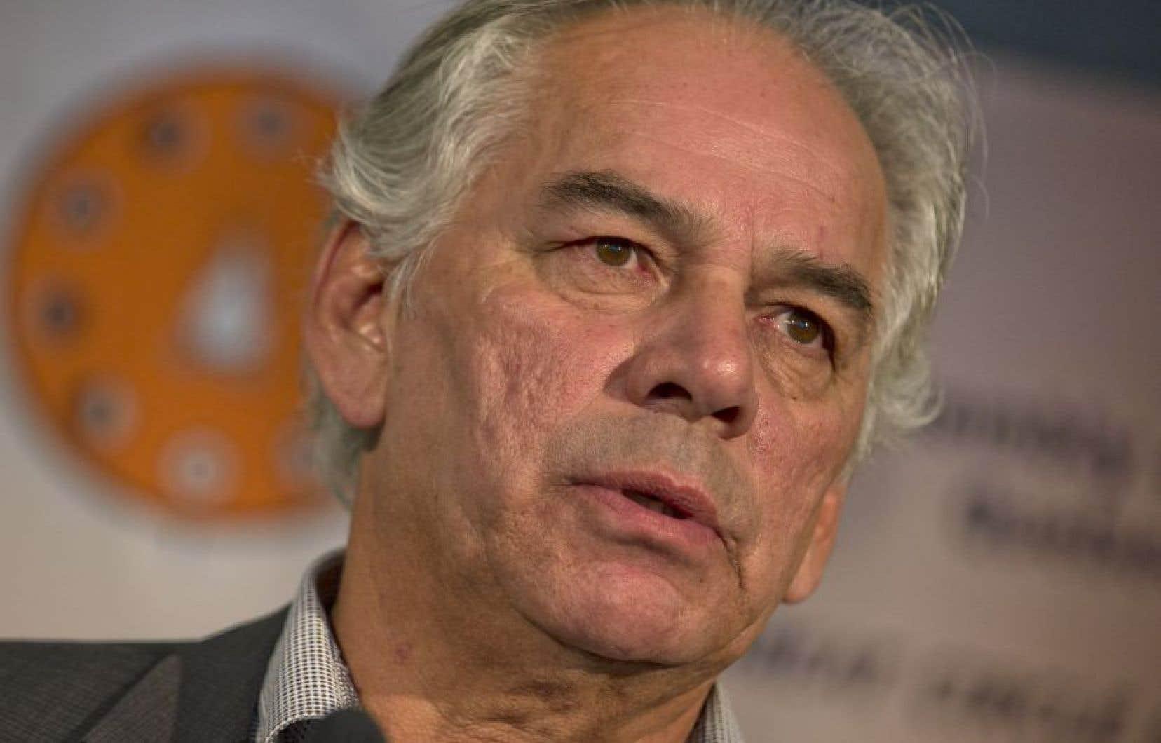 Le chef de l'Assemblée des Premières Nations du Québec et du Labrador, Ghislain Picard<br />