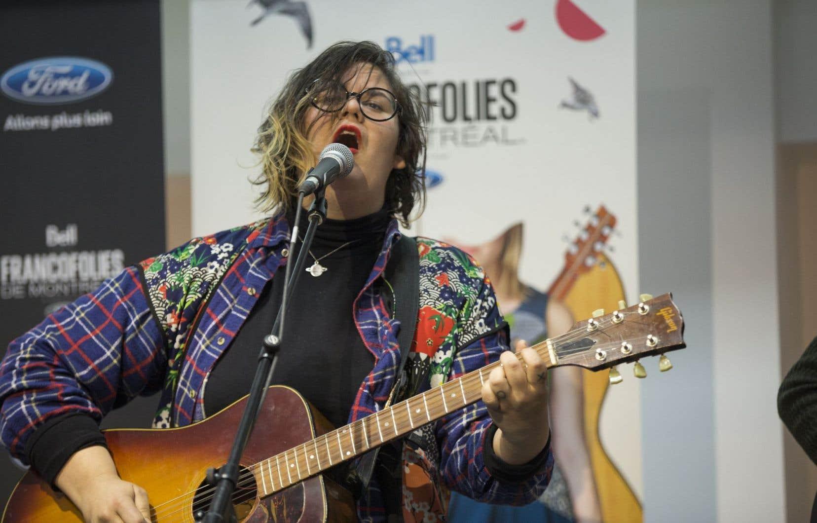 Safia Nolin a reçu le prix Félix-Leclerc de la chanson 2016